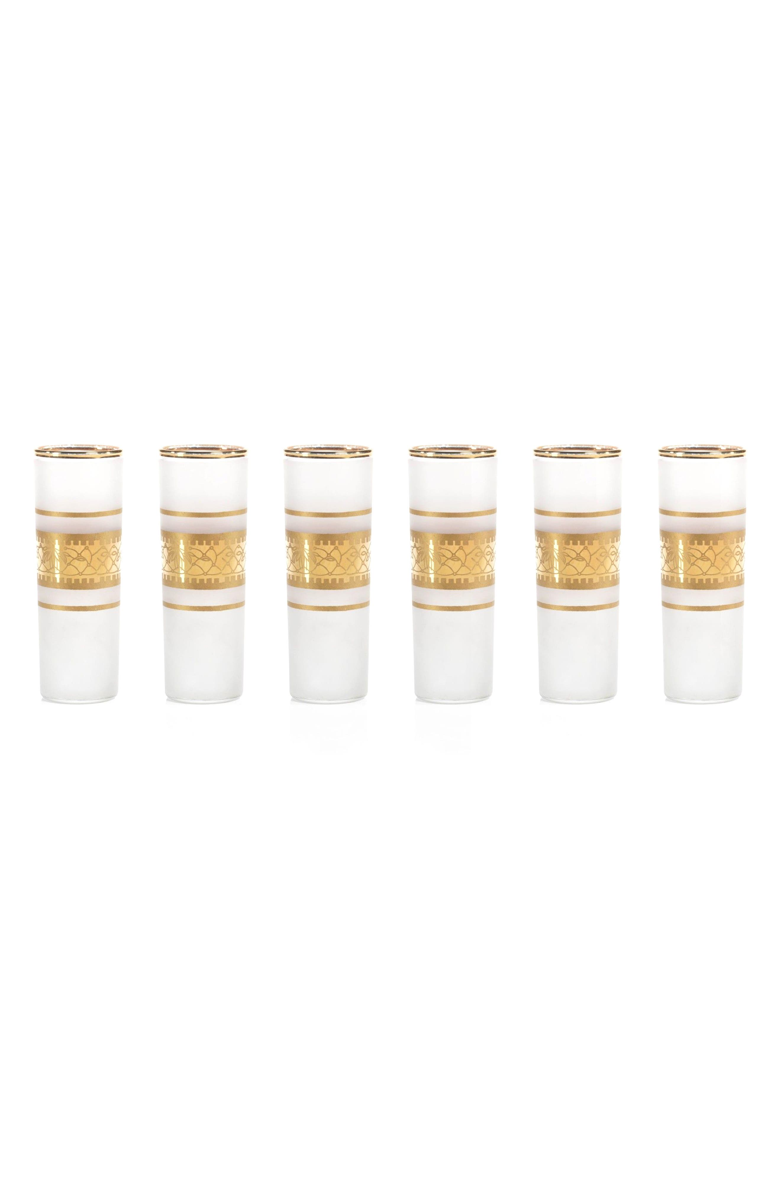 Zodax Melilla Set of 6 Shot Glasses
