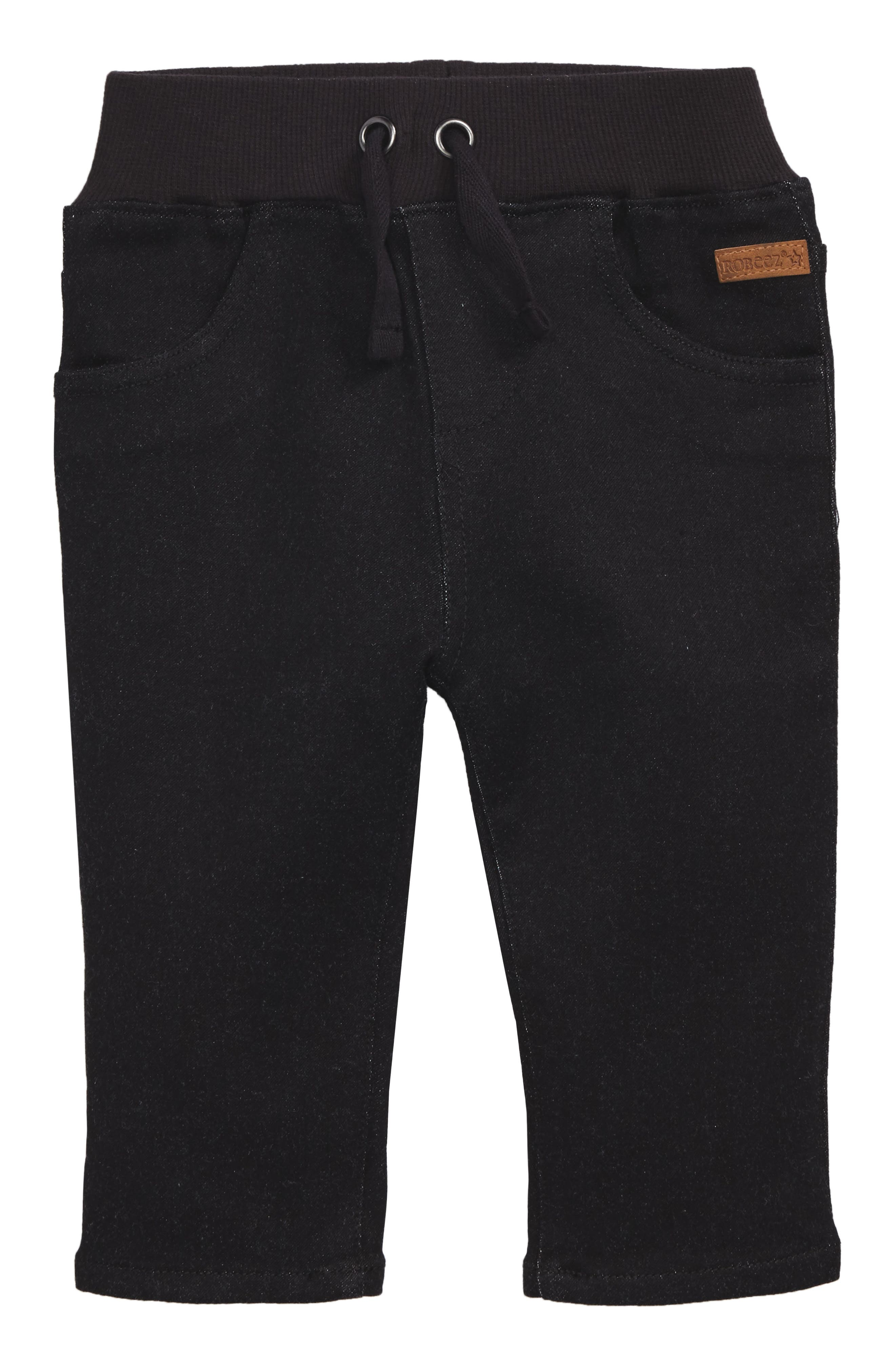 Soft Jeans,                             Main thumbnail 1, color,                             Black