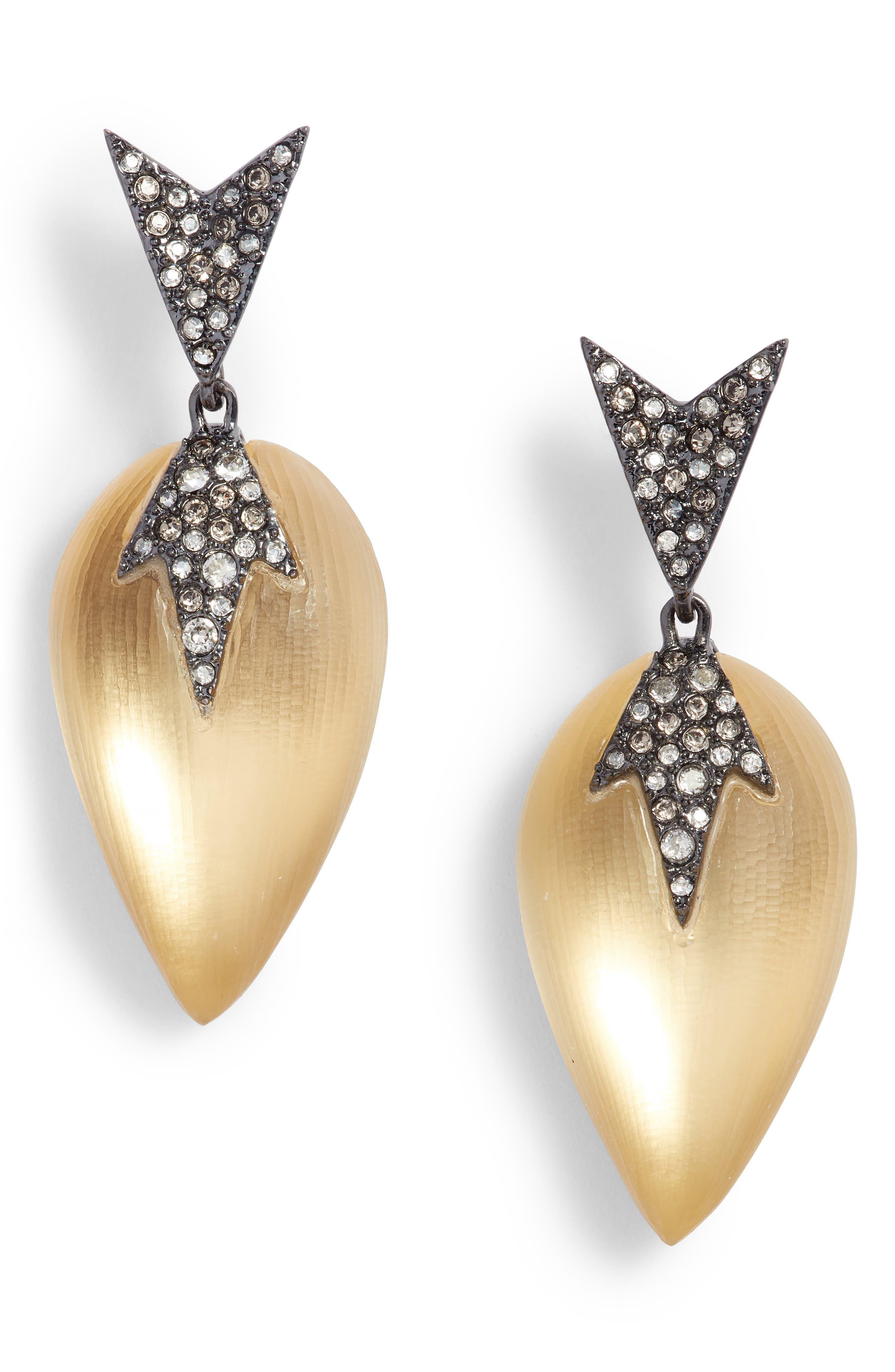 Alexis Bittar Lucite Question Mark Drop Earrings WFaczXH7t