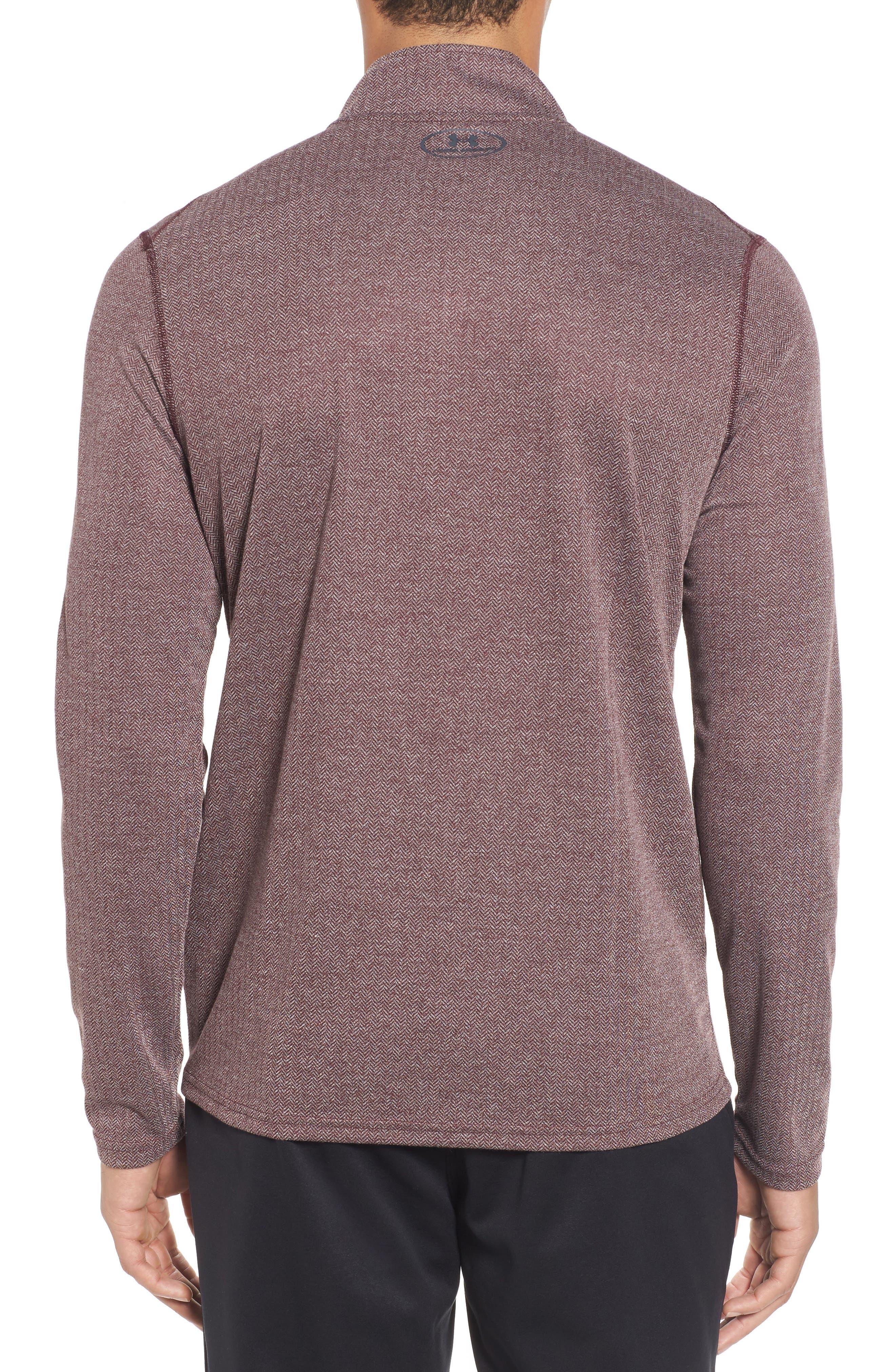 Alternate Image 2  - Under Armour Threadborne Quarter-Zip Performance Shirt