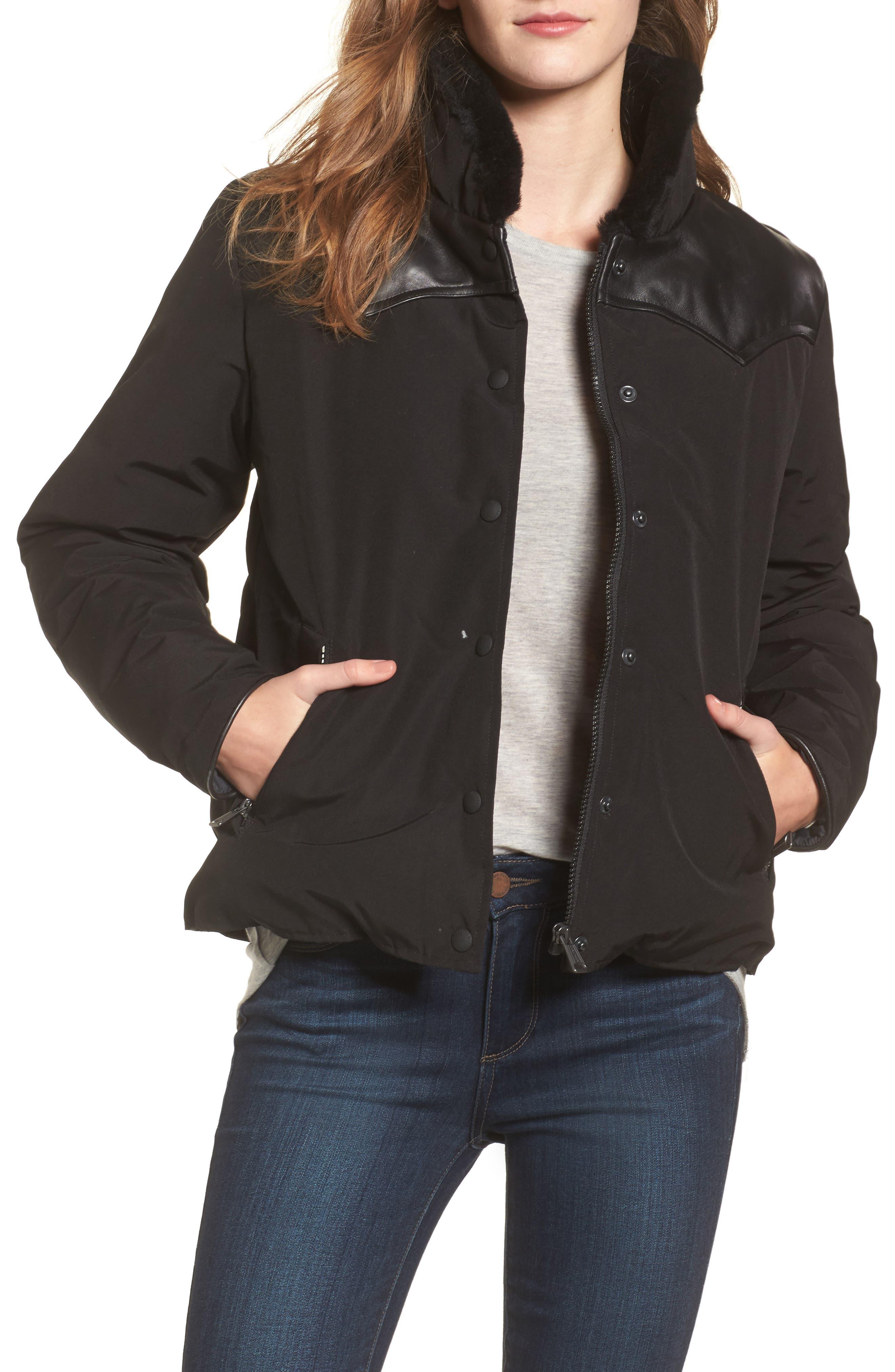 Main Image - Penfield Rockwool Down Jacket with Genuine Coyote Fur Trim