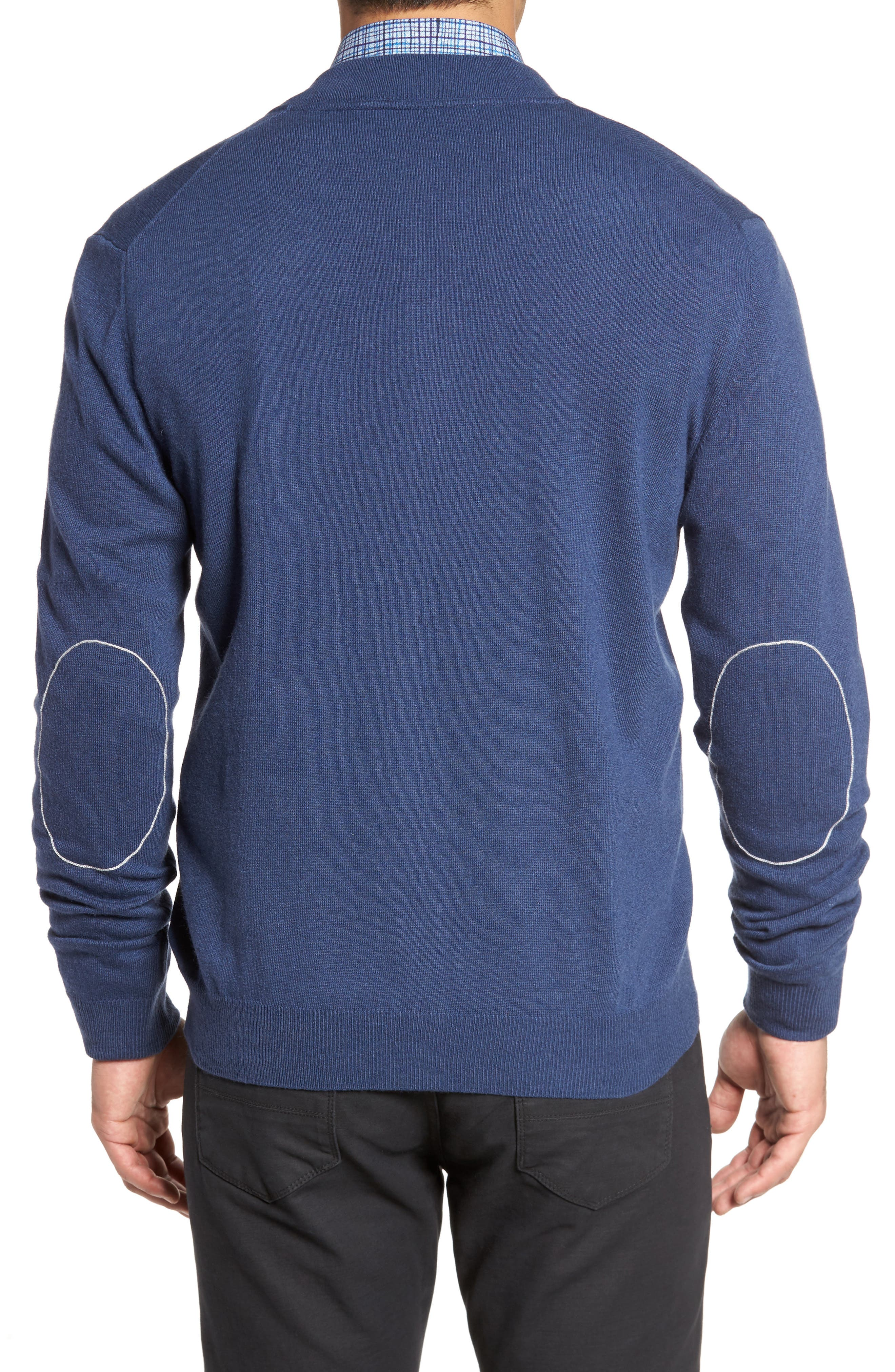 Zip Sweater,                             Alternate thumbnail 2, color,                             Classic Blue