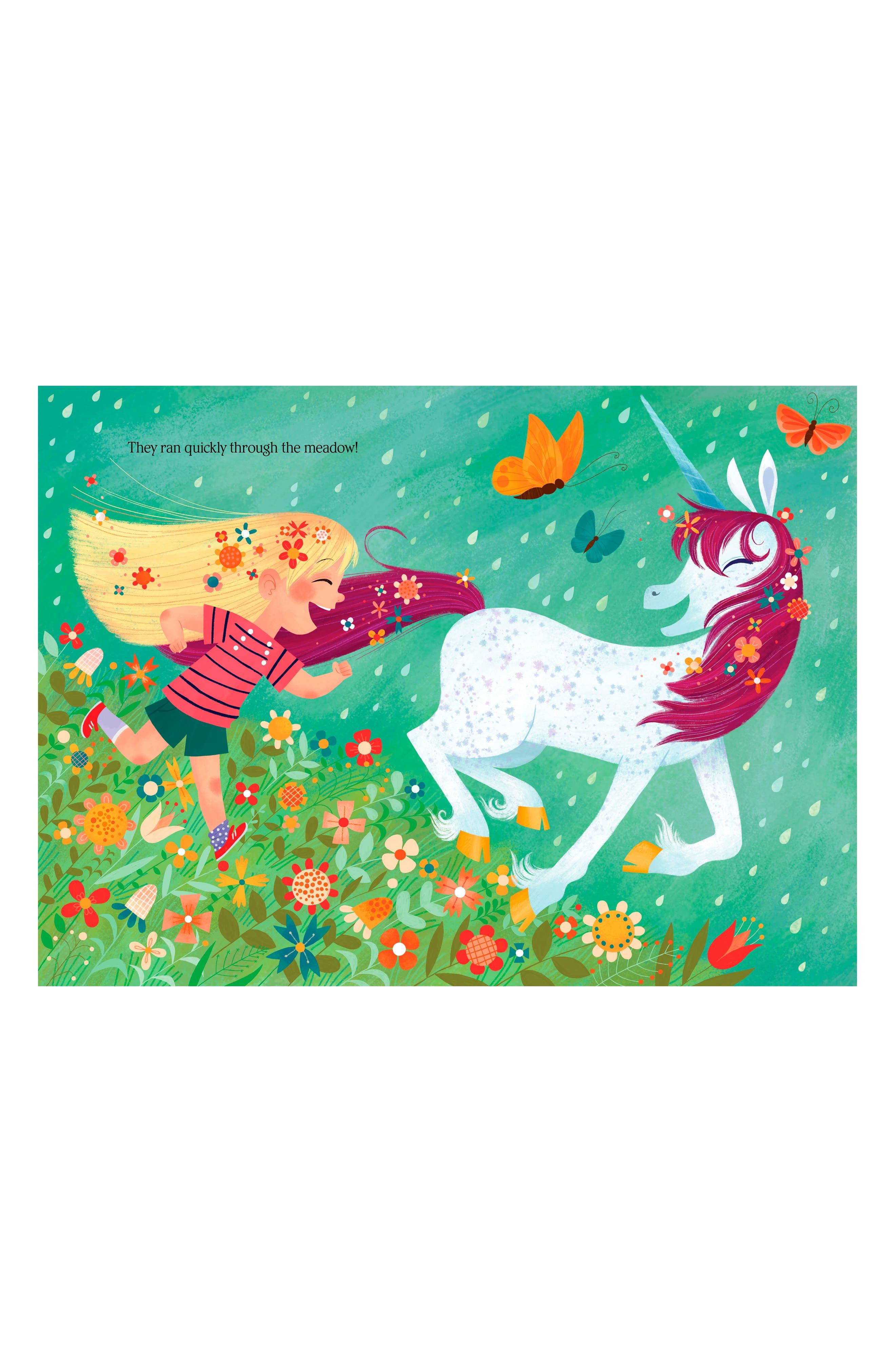 'Uni the Unicorn & the Dream Come True' Board Book,                             Alternate thumbnail 2, color,                             Pink