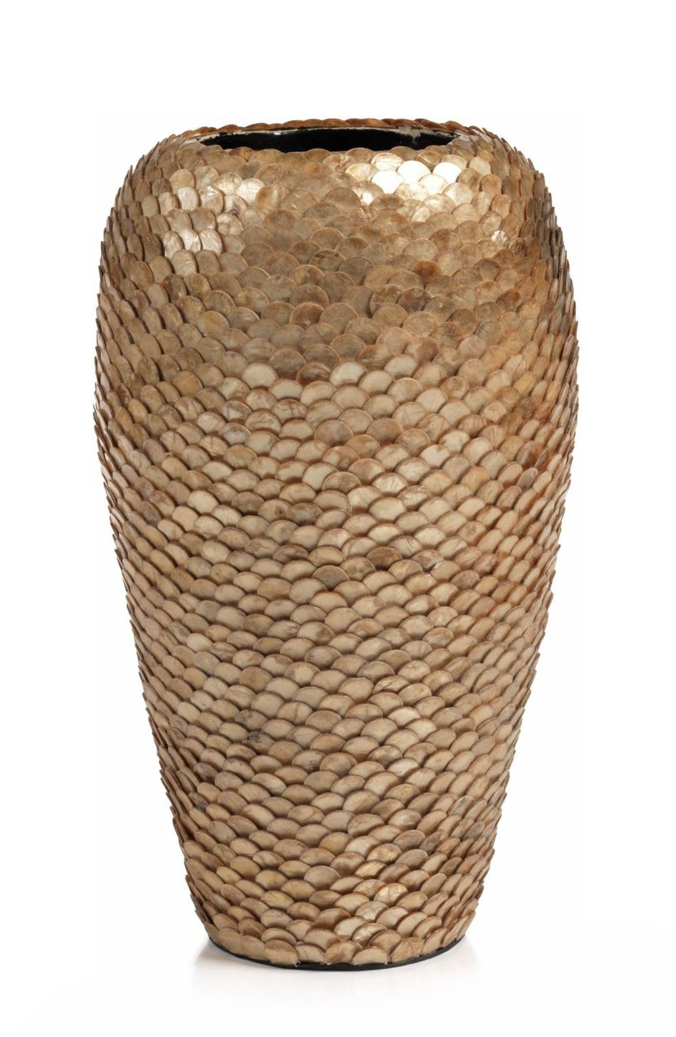 Seychelles Vase,                             Main thumbnail 1, color,                             Bronze