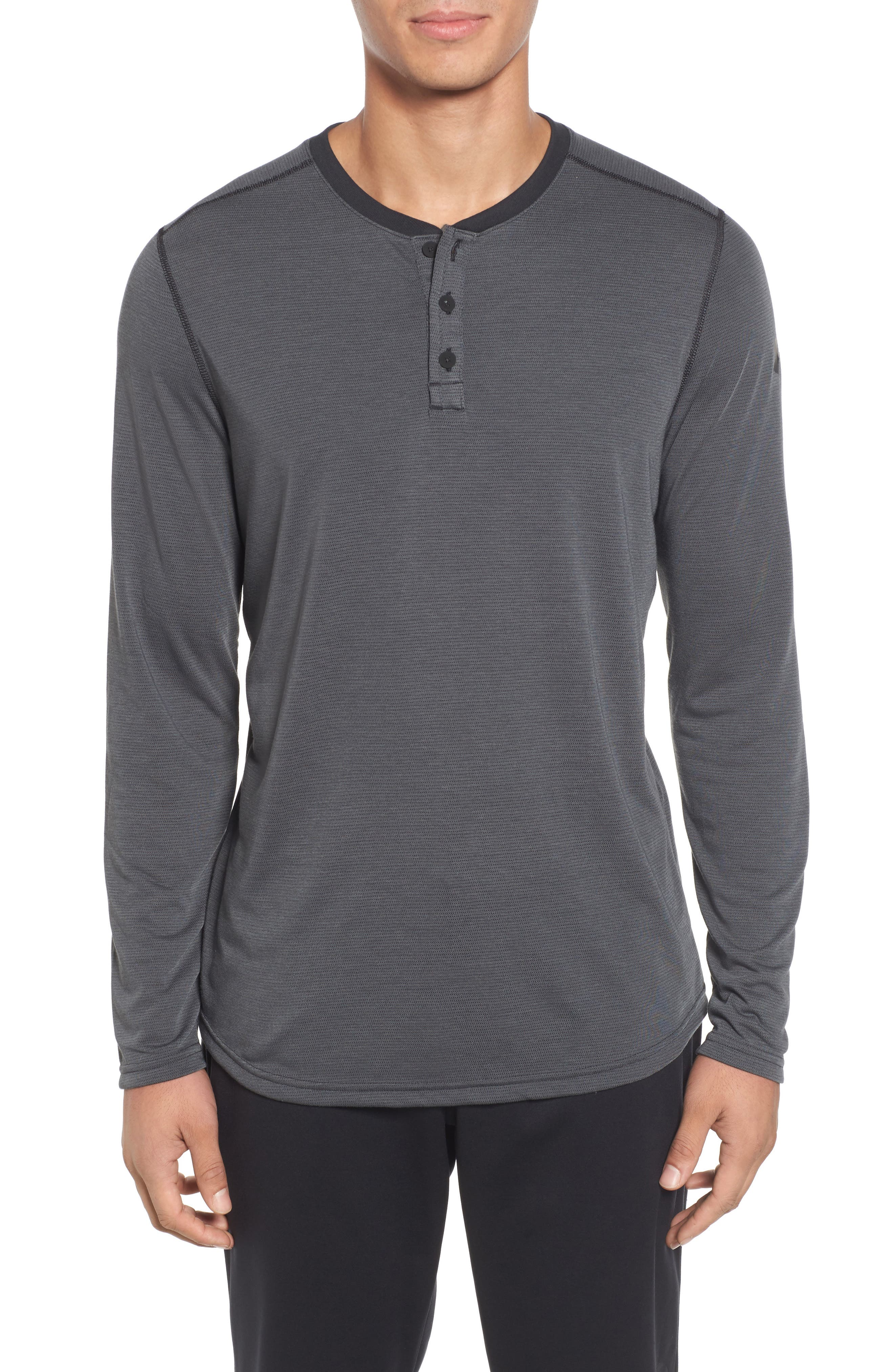 Under Armour Threadborne™ Long Sleeve Henley