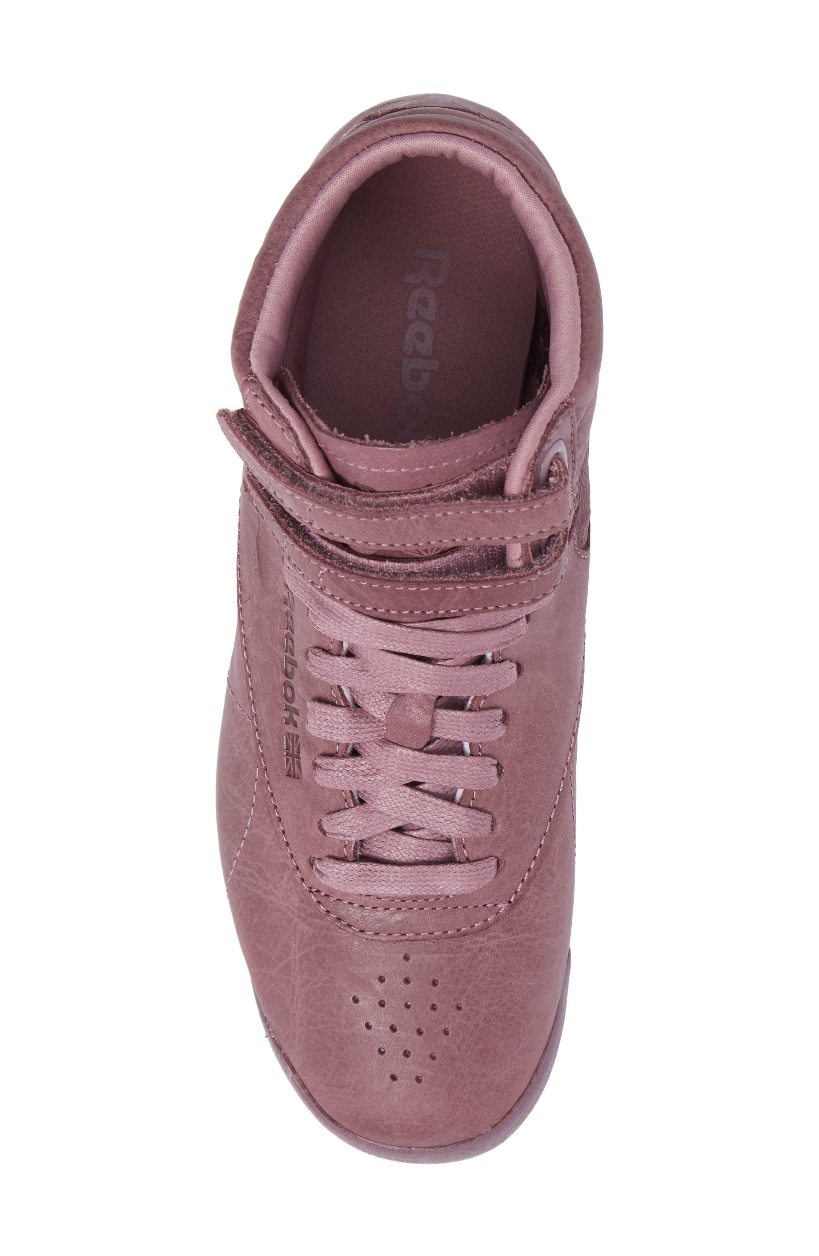 Alternate Image 5  - Reebok Freestyle Hi Sneaker (Women)