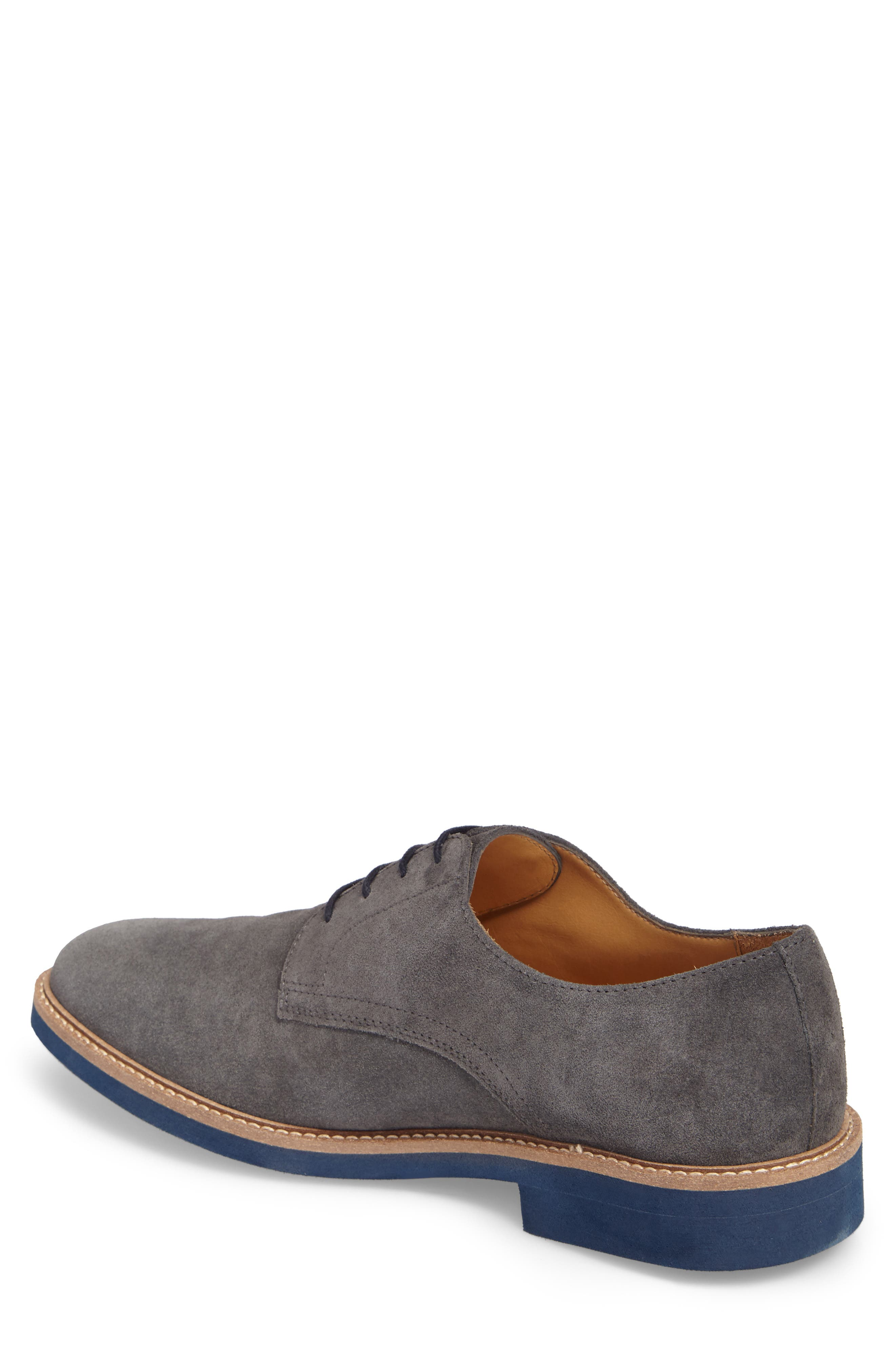 Buck Shoe,                             Alternate thumbnail 2, color,                             Grey Suede