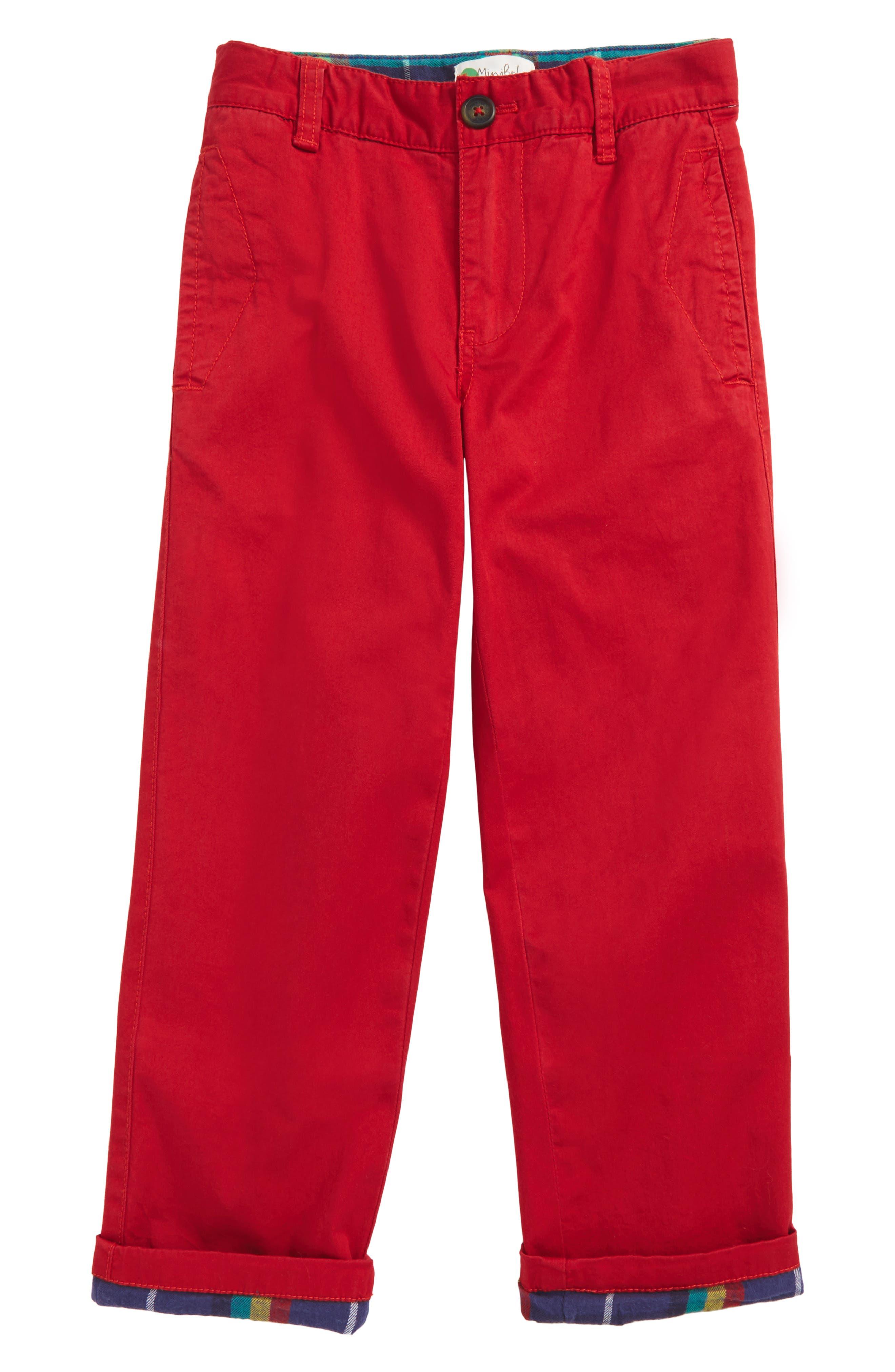 Mini Boden Lined Chino Pants (Toddler Boys, Little Boys & Big Boys)