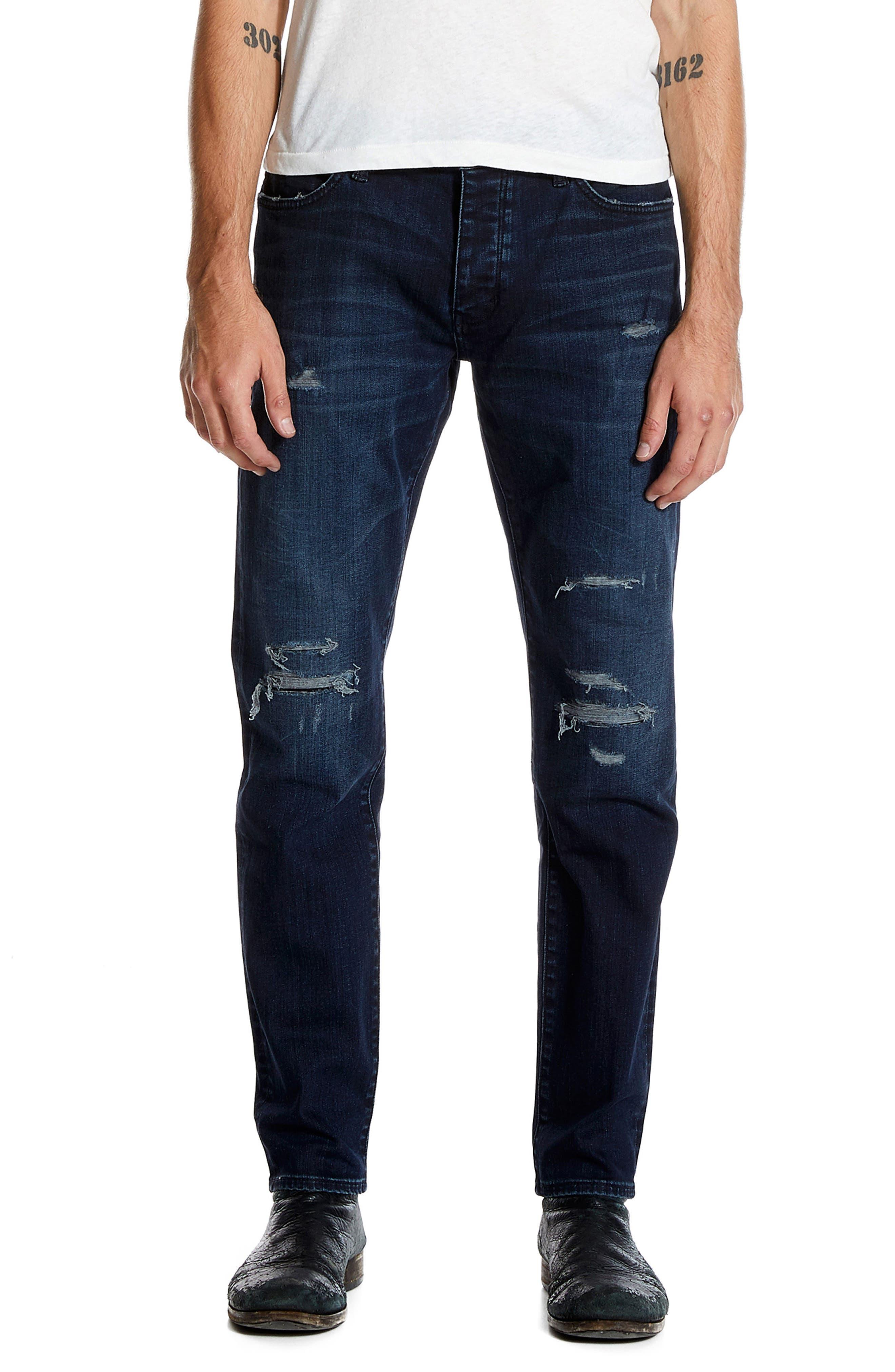 Alternate Image 1 Selected - NEUW Lou Slim Fit Jeans (Repair)