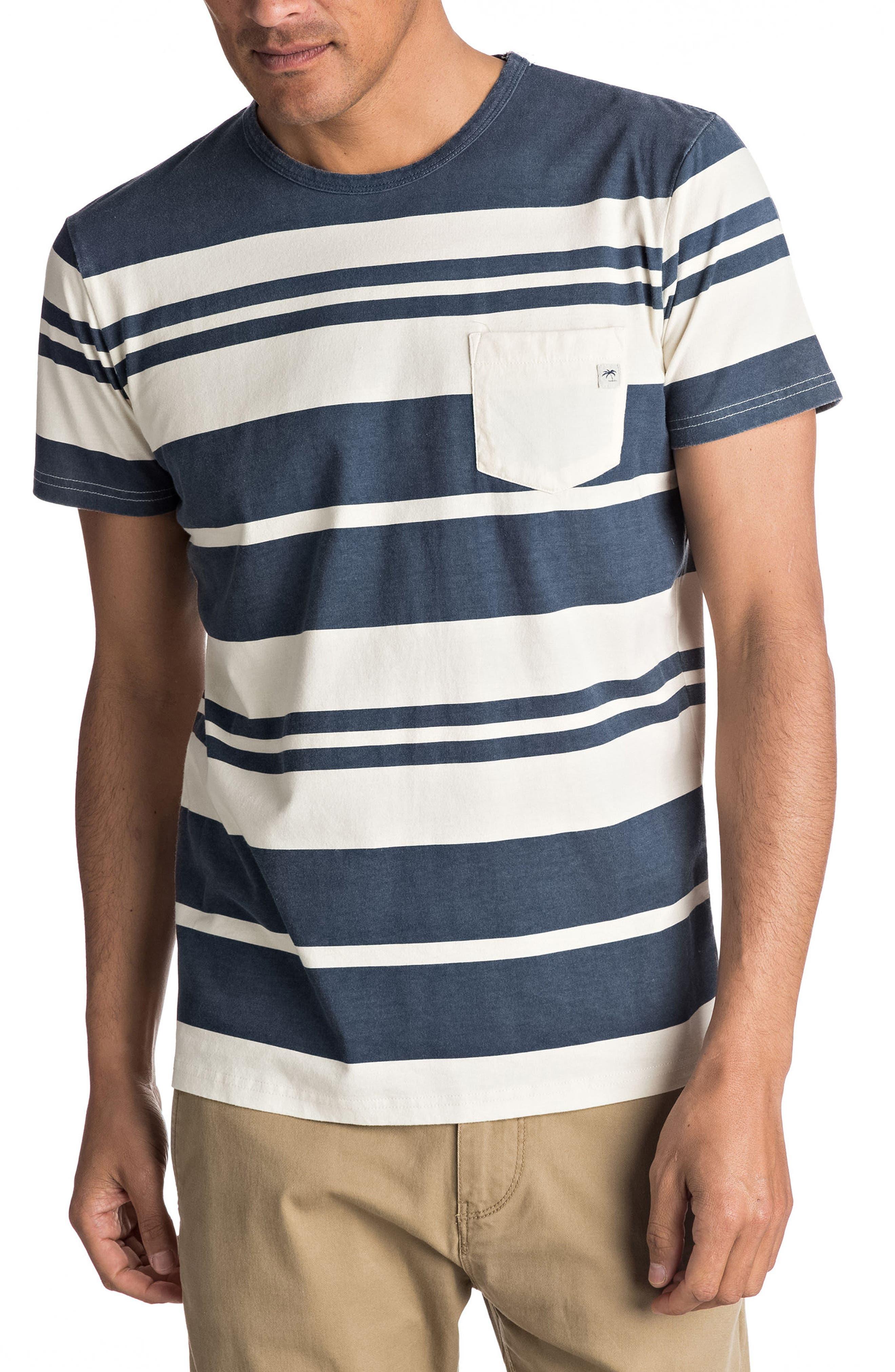 Quiksilver Lokea Stripe Pocket T-Shirt