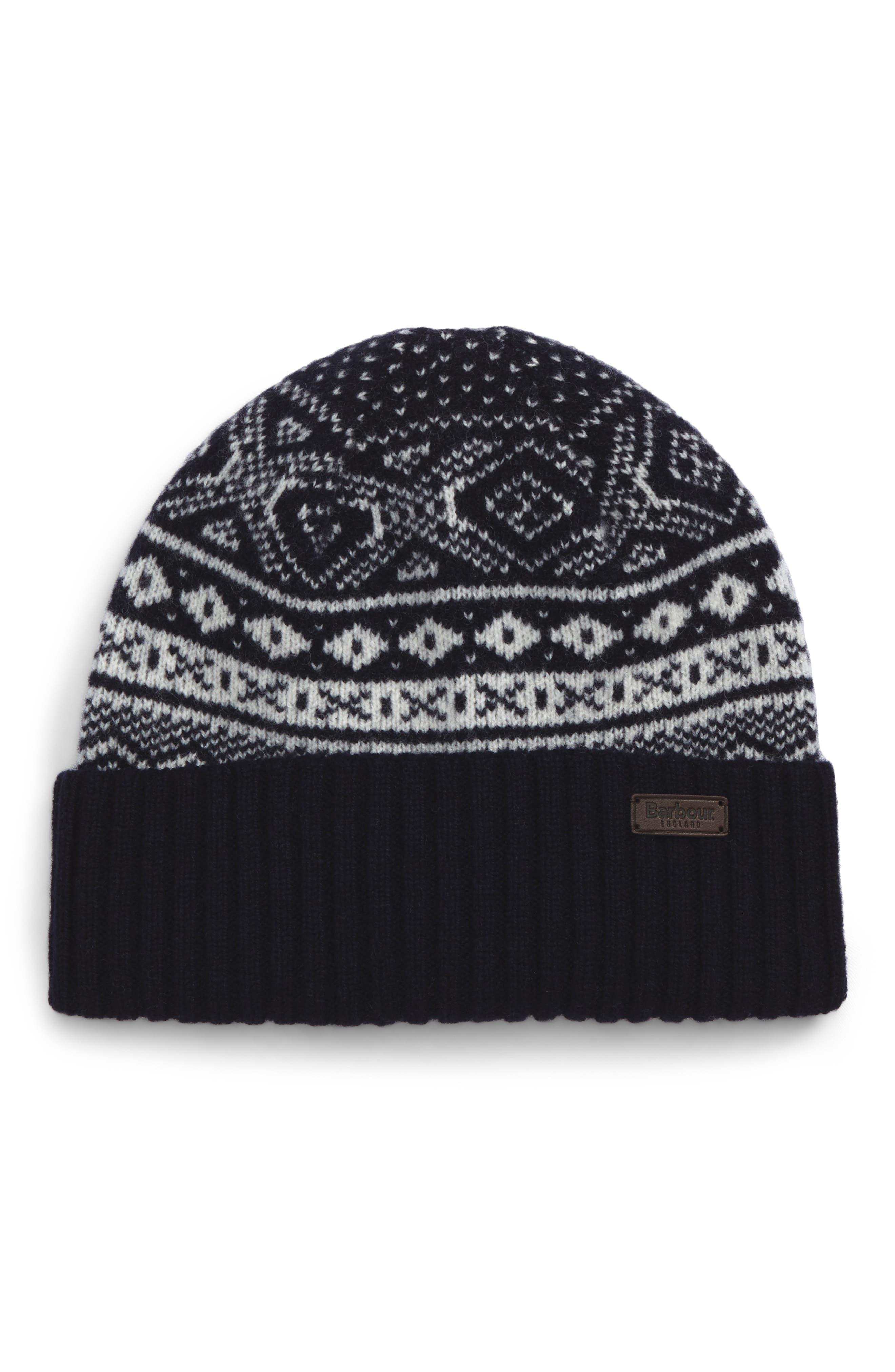 Barbour Gisburne Knit Wool Beanie