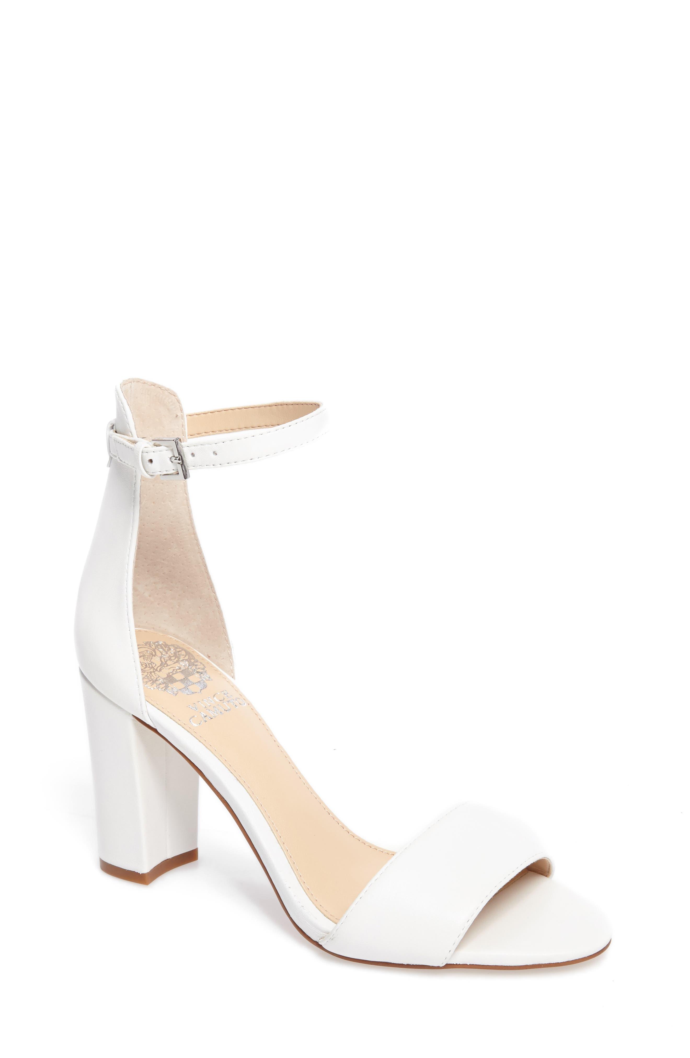 White Sandal Heels wXG4CK8j