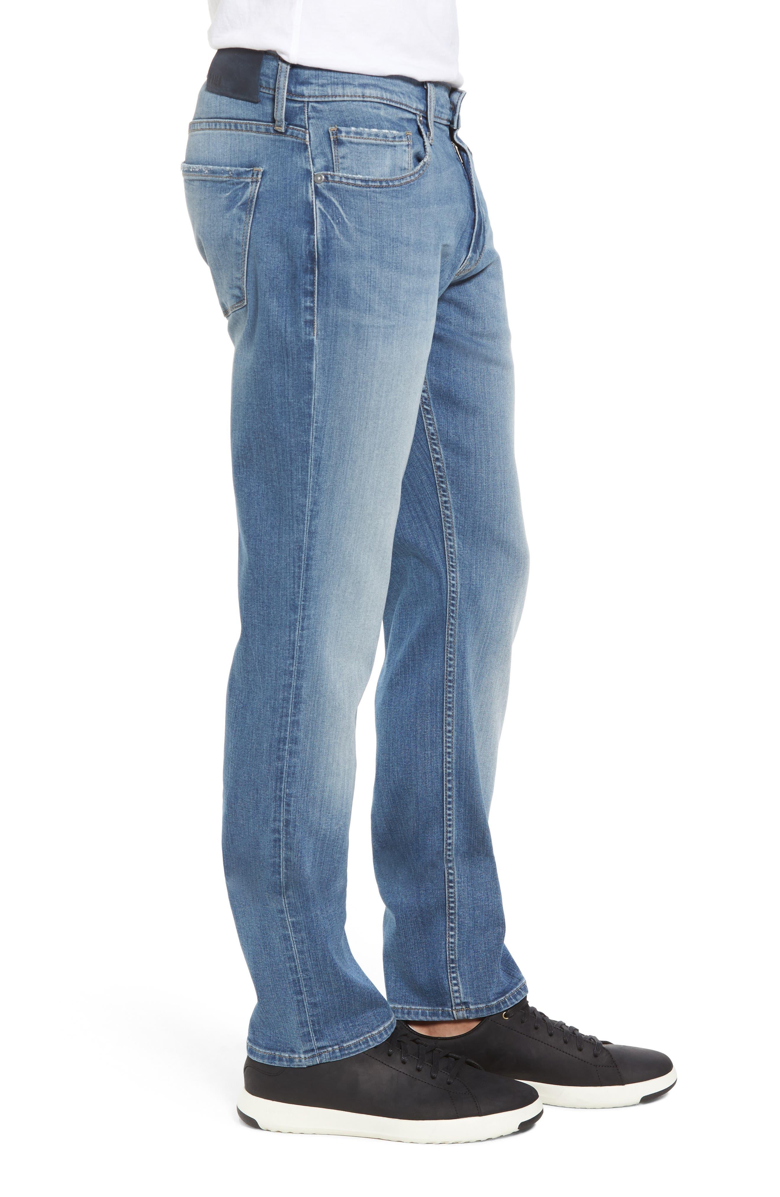 Alternate Image 3  - PAIGE Transcend - Federal Slim Straight Fit Jeans (Oakland)