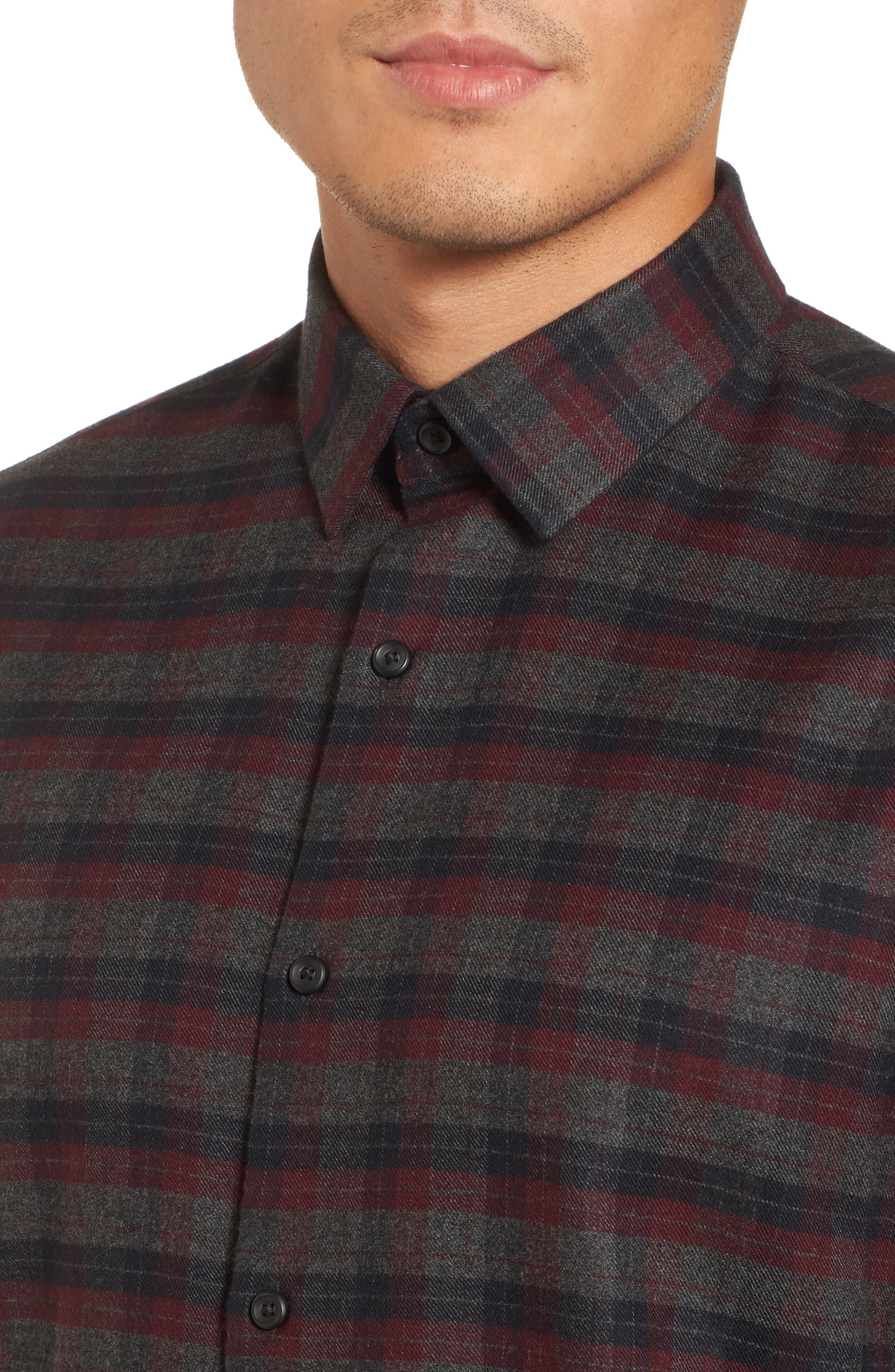 Alternate Image 4  - Calibrate Check Flannel Sport Shirt