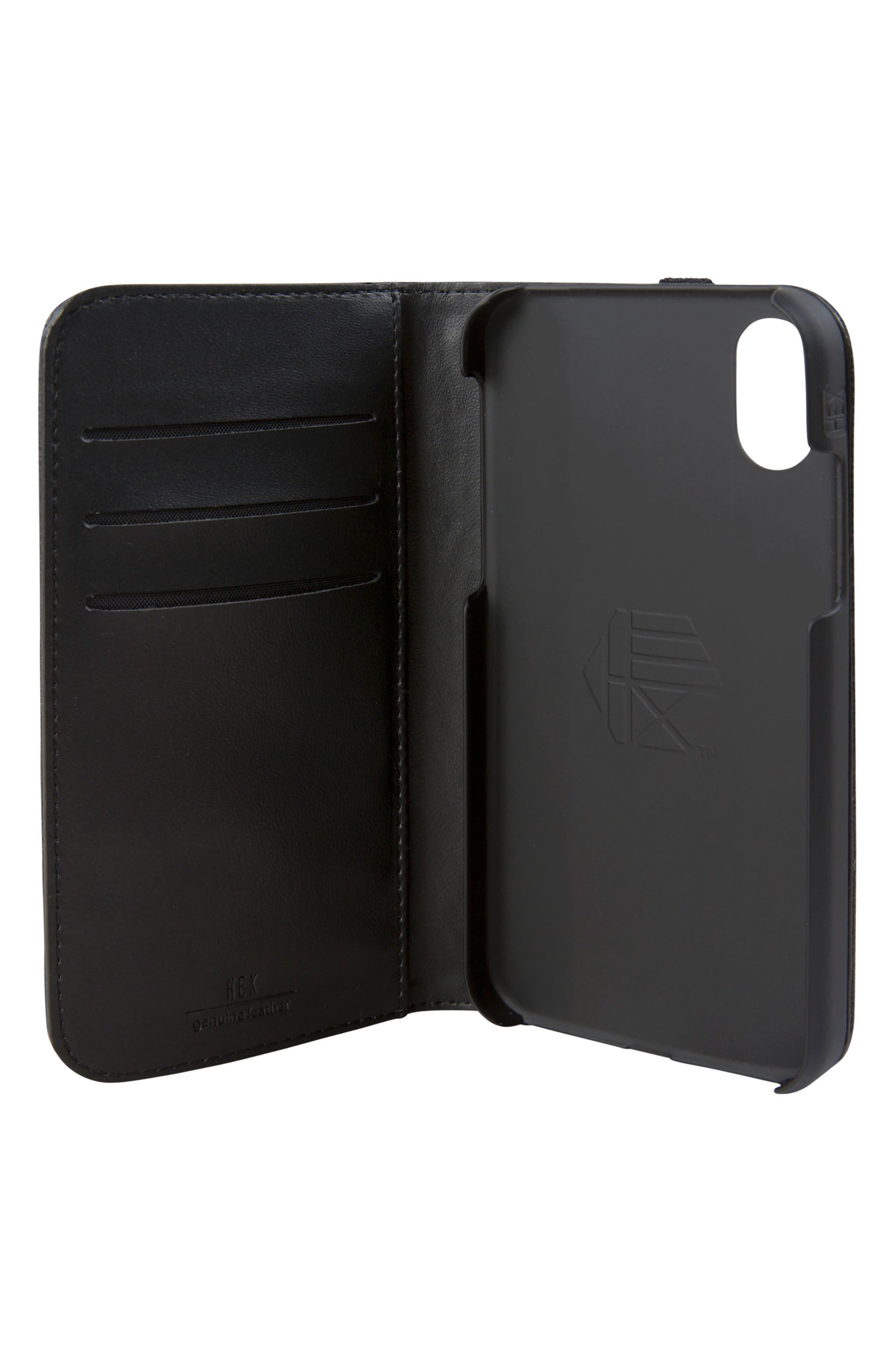 Alternate Image 3  - Hex Icon iPhone X Wallet Case