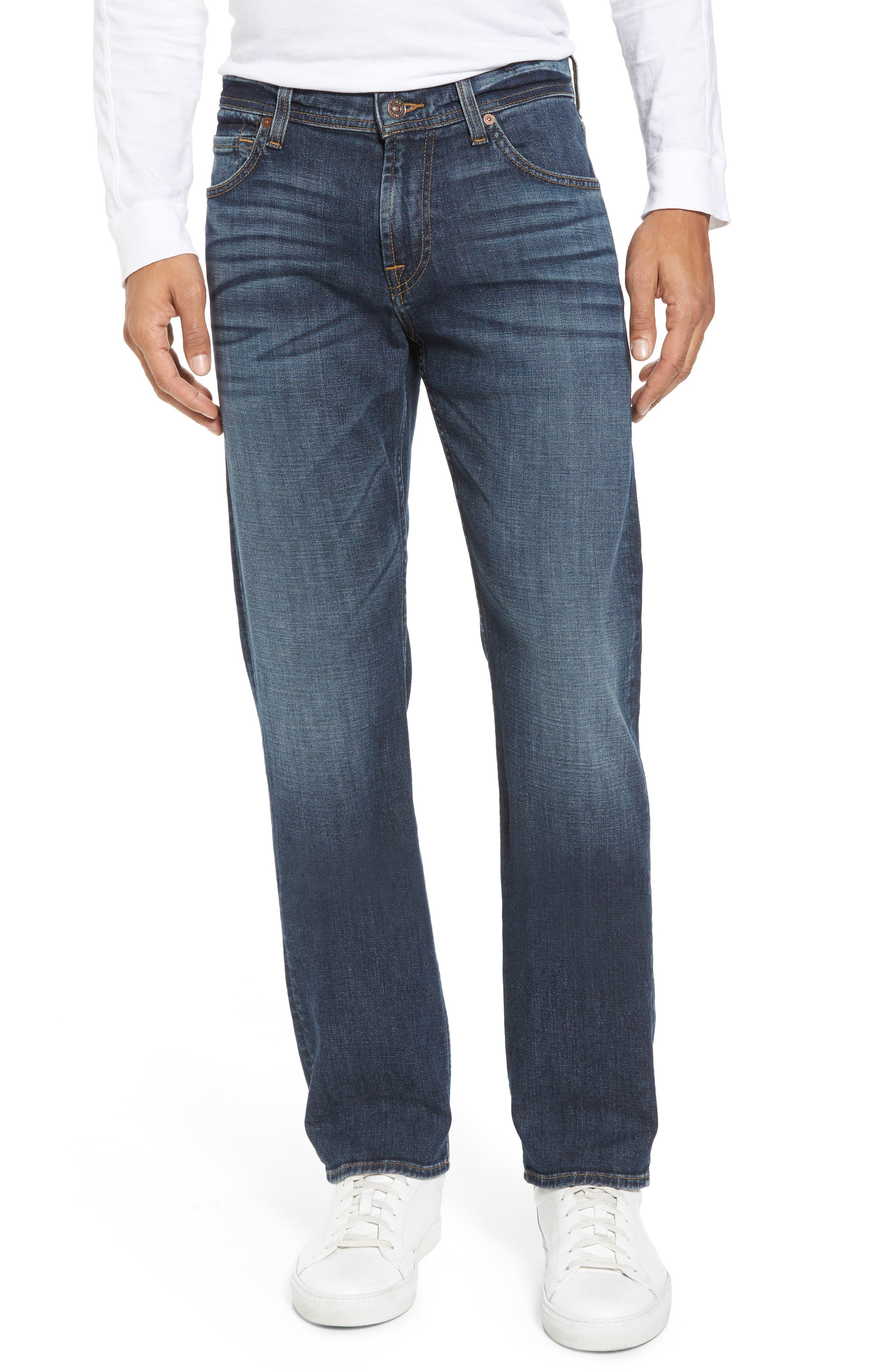Main Image - 7 For All Mankind® The Standard Straight Leg Jeans (Nomad)