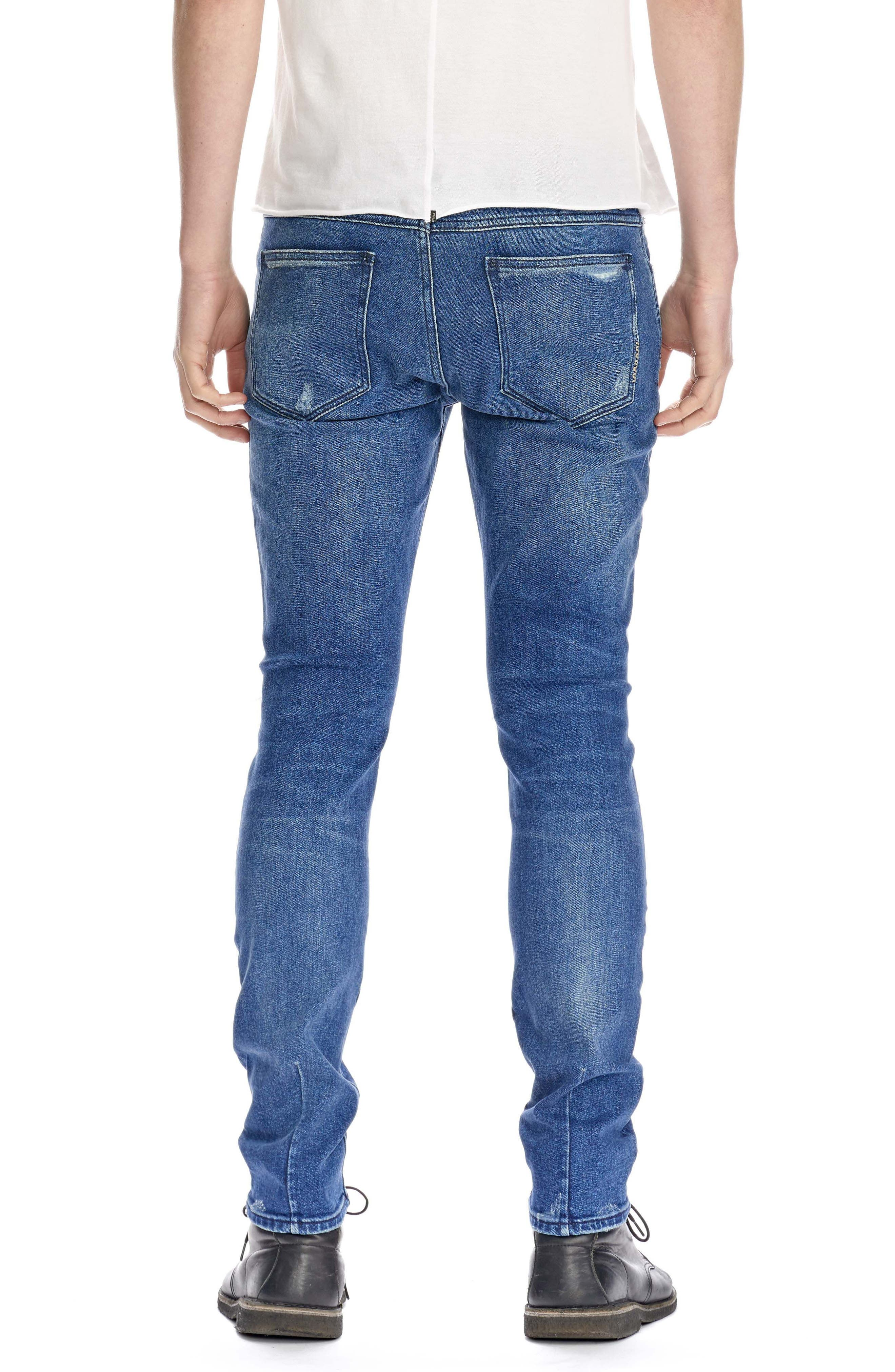 Iggy Skinny Fit Jeans,                             Alternate thumbnail 2, color,                             Exodus