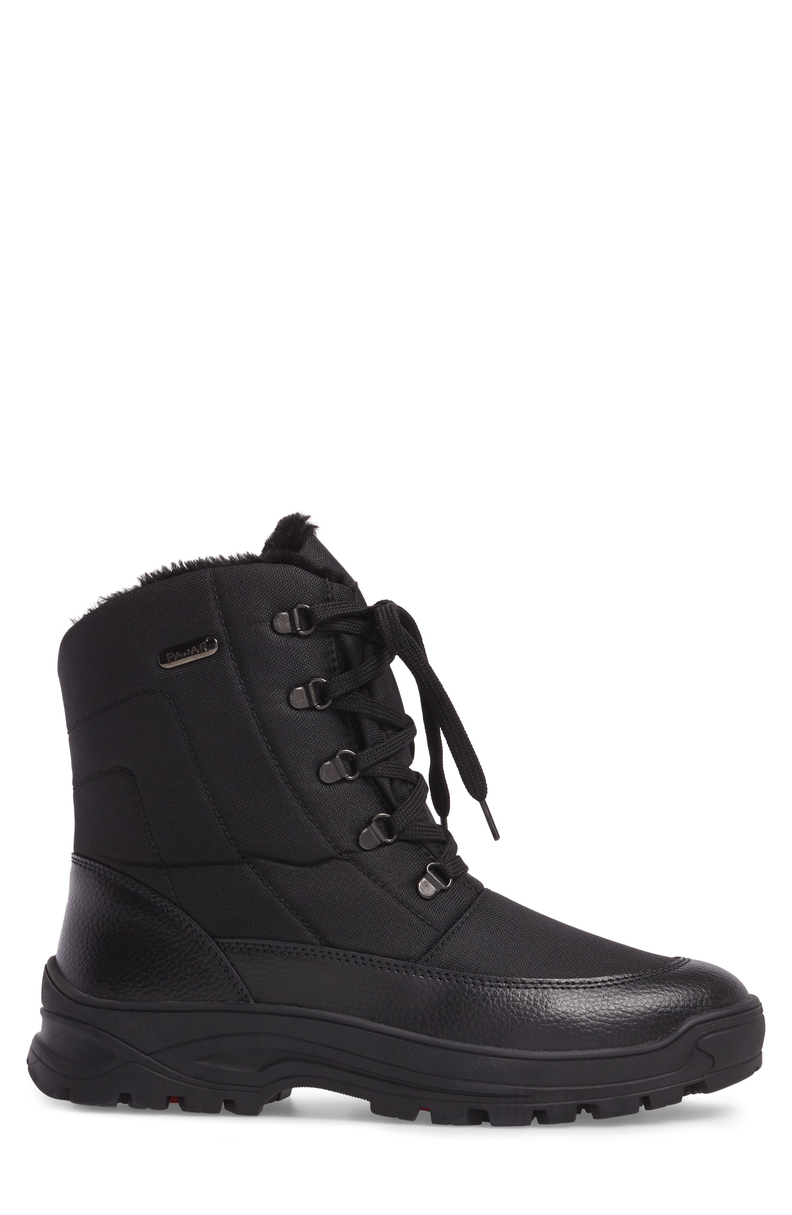 Trigger Winter Boot,                             Alternate thumbnail 3, color,                             Black