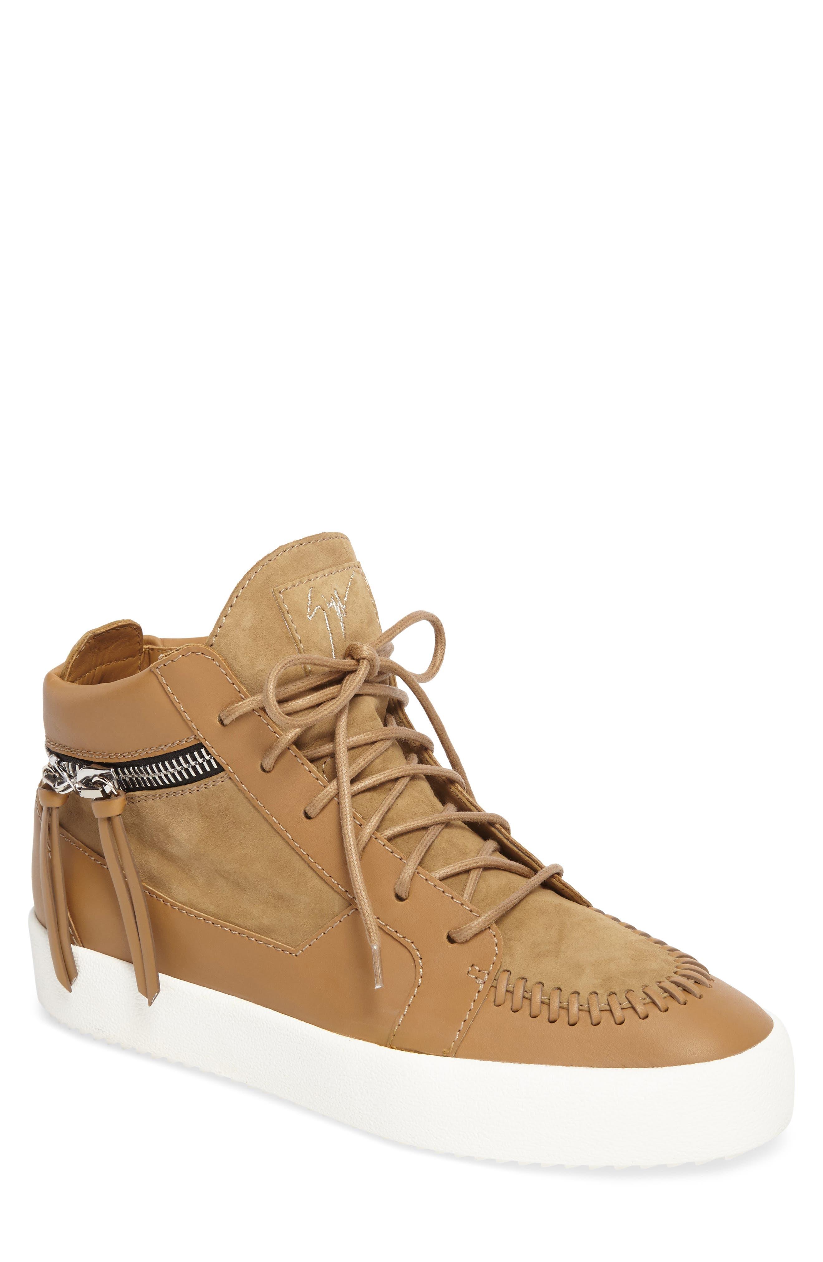 Giuseppe Zanotti Mid-Top Sneaker (Men)