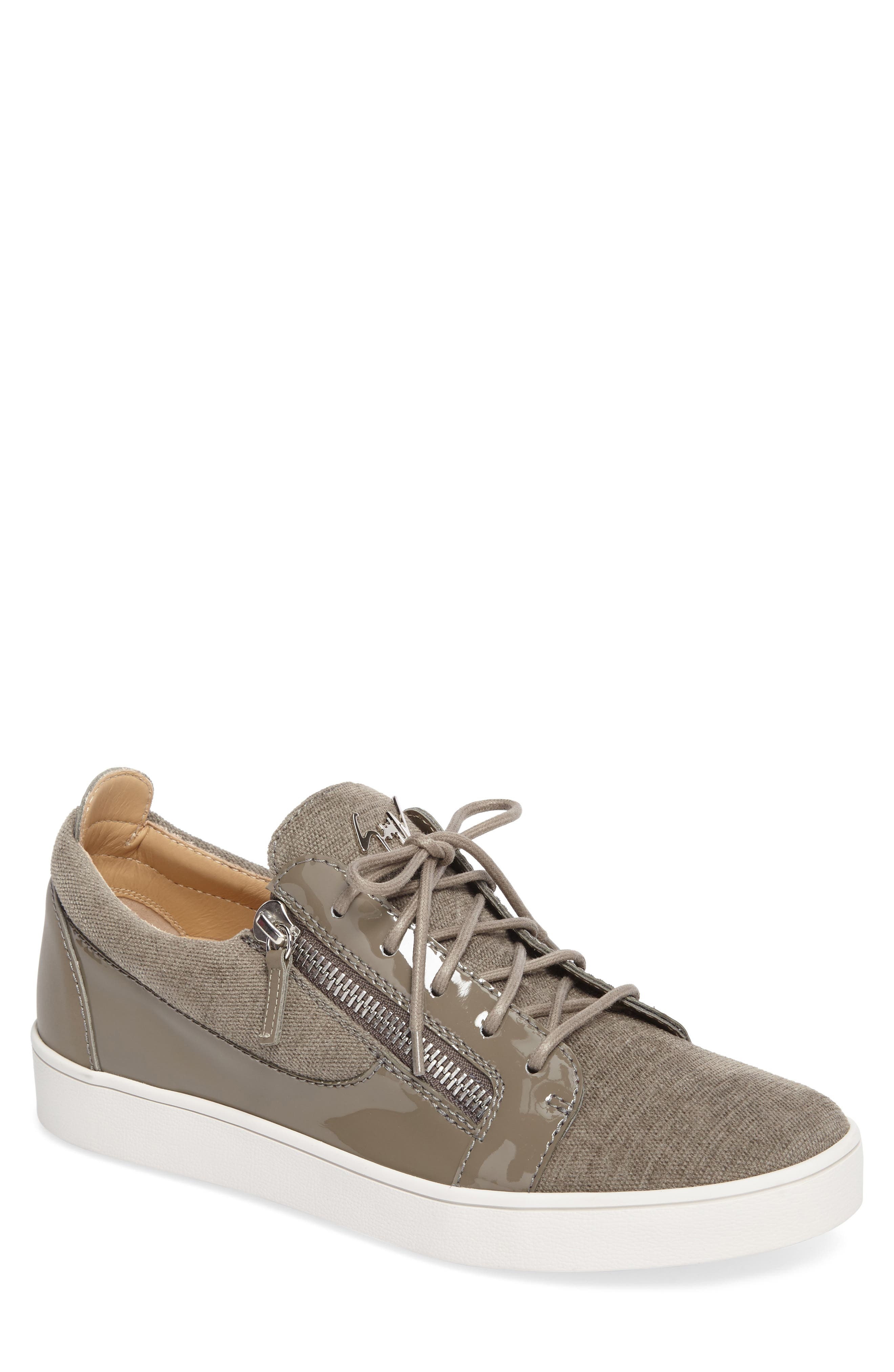 Low-Top Sneaker,                             Main thumbnail 1, color,                             Pietra
