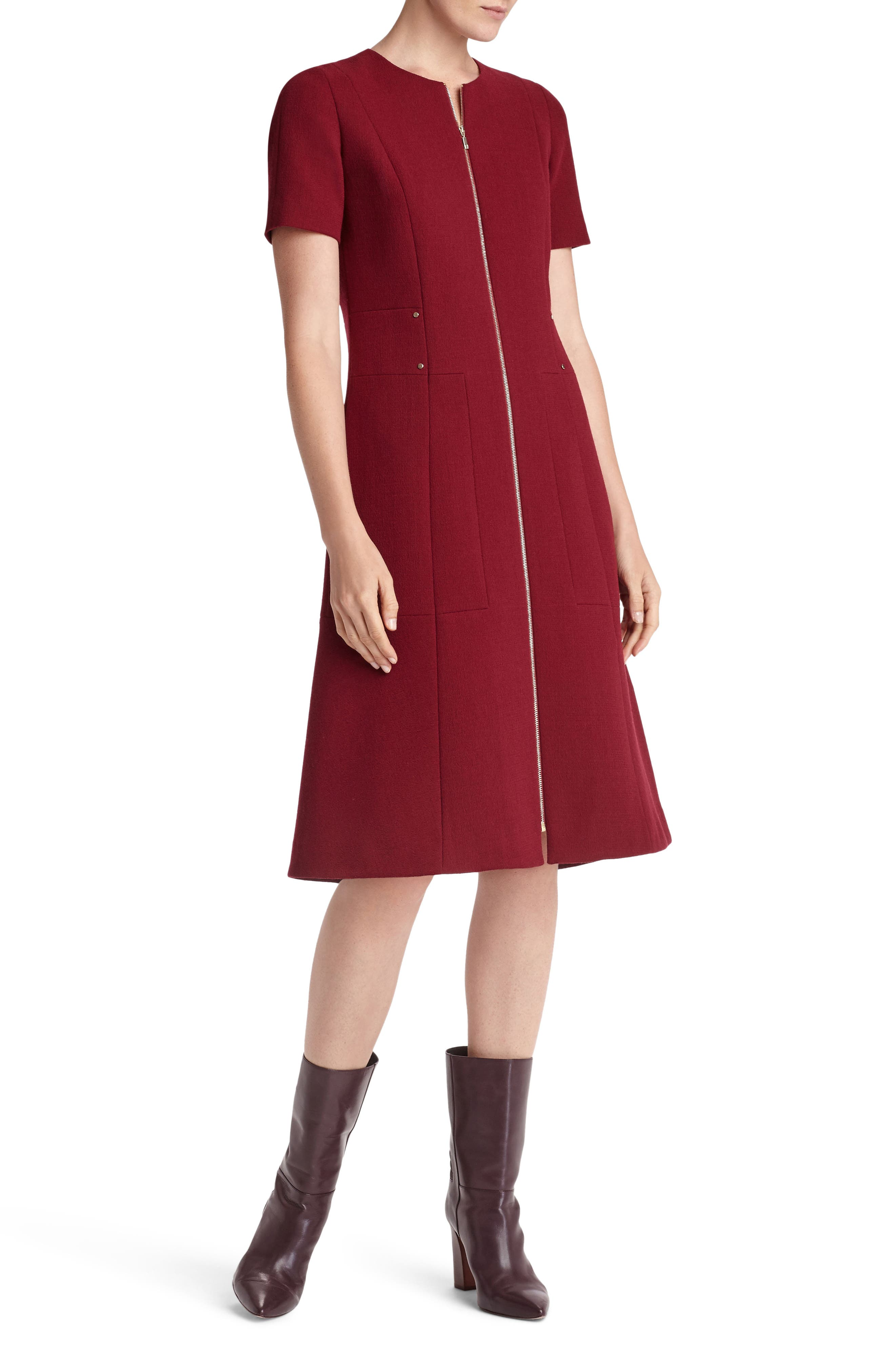 Alternate Image 1 Selected - Lafayette 148 New York Sonya Nouveau Crepe Dress