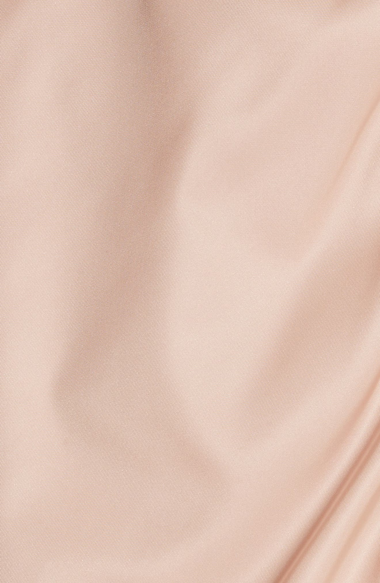 Aralia Layered Bomber Jacket,                             Alternate thumbnail 5, color,                             Pink
