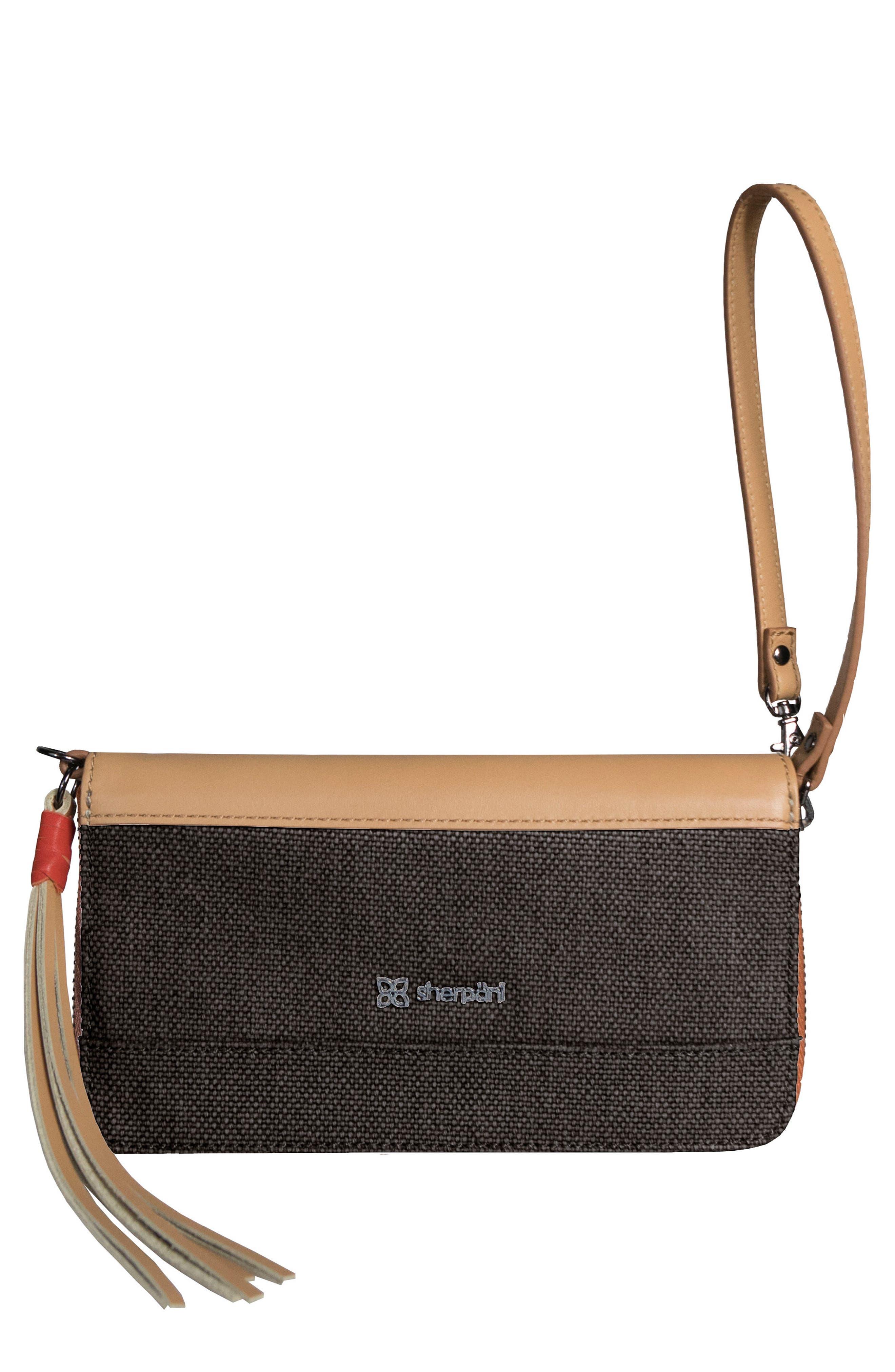 Tai Zip Around Wallet,                         Main,                         color, Blackstone