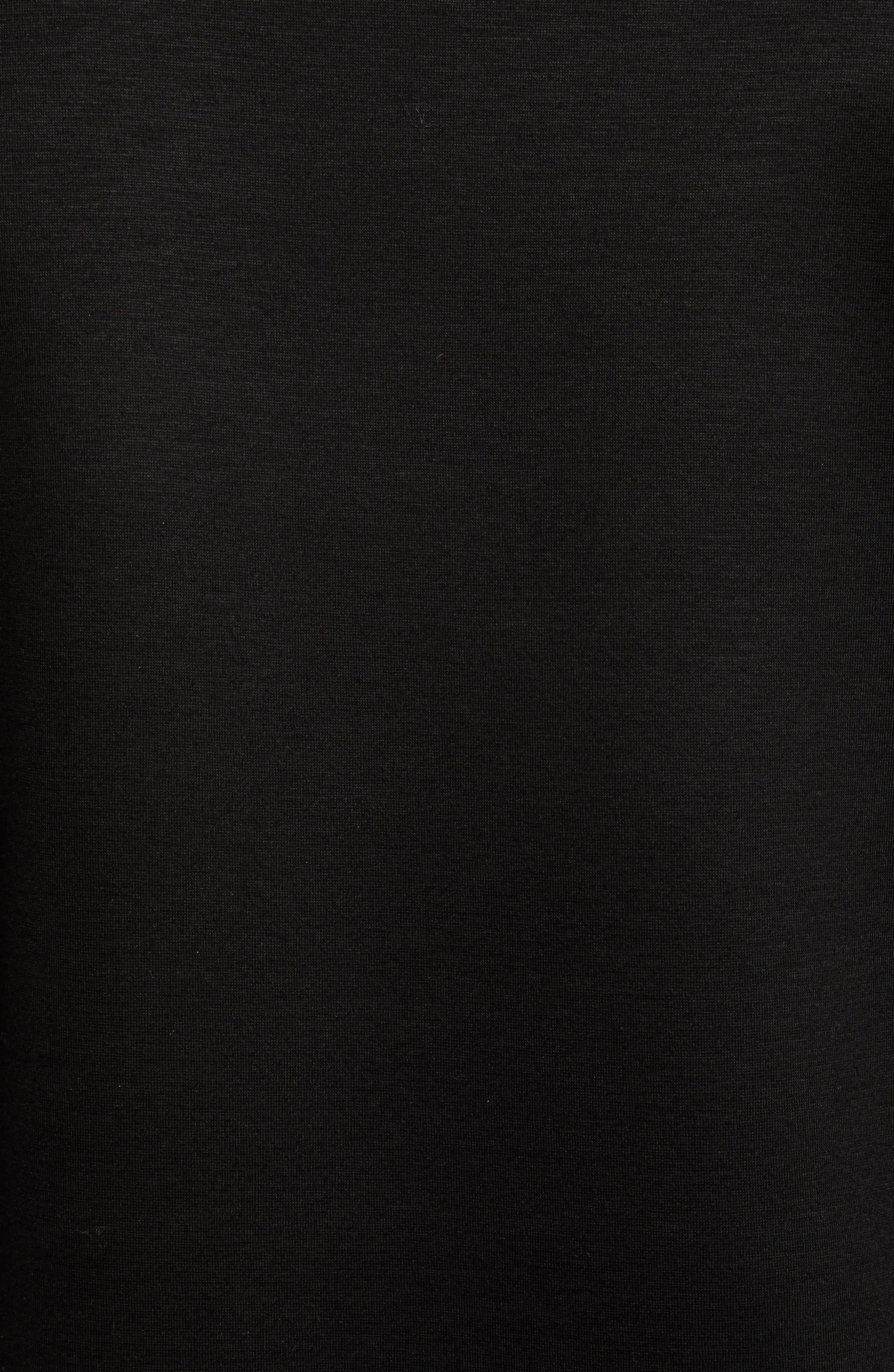 Belsford Crewneck Sweatshirt,                             Alternate thumbnail 5, color,                             Black
