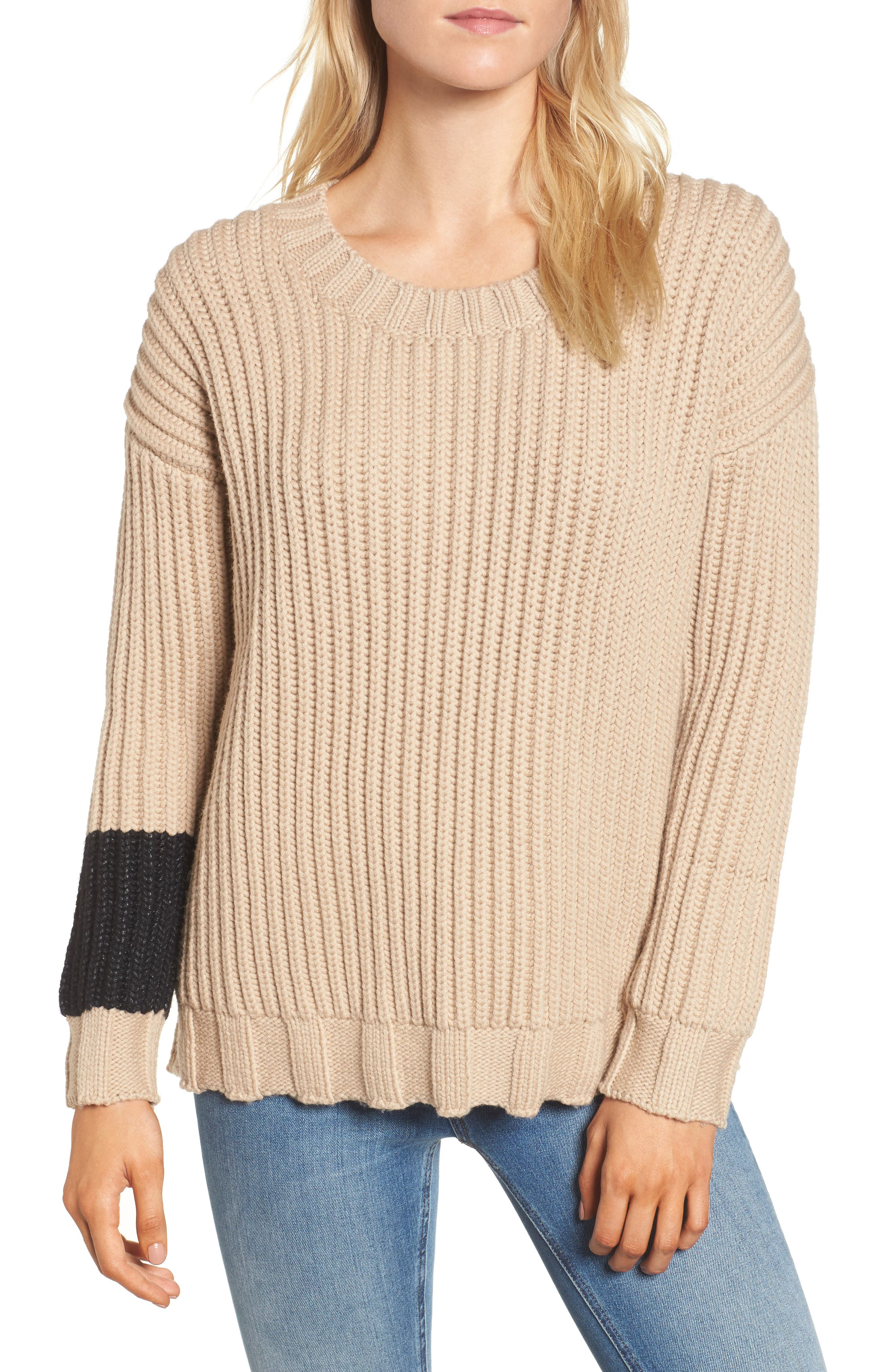 James Perse Chunky Armband Sweater