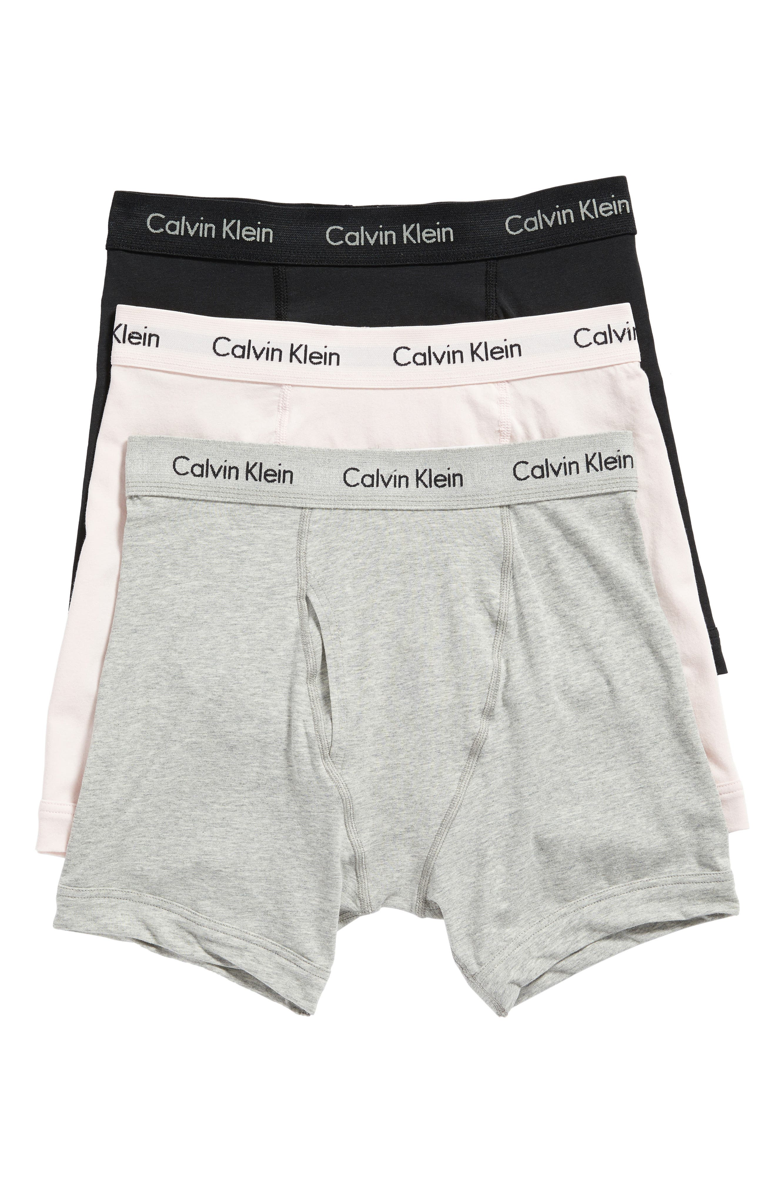 3-Pack Boxer Briefs,                         Main,                         color, Black/ Grey/ Nymph Thigh