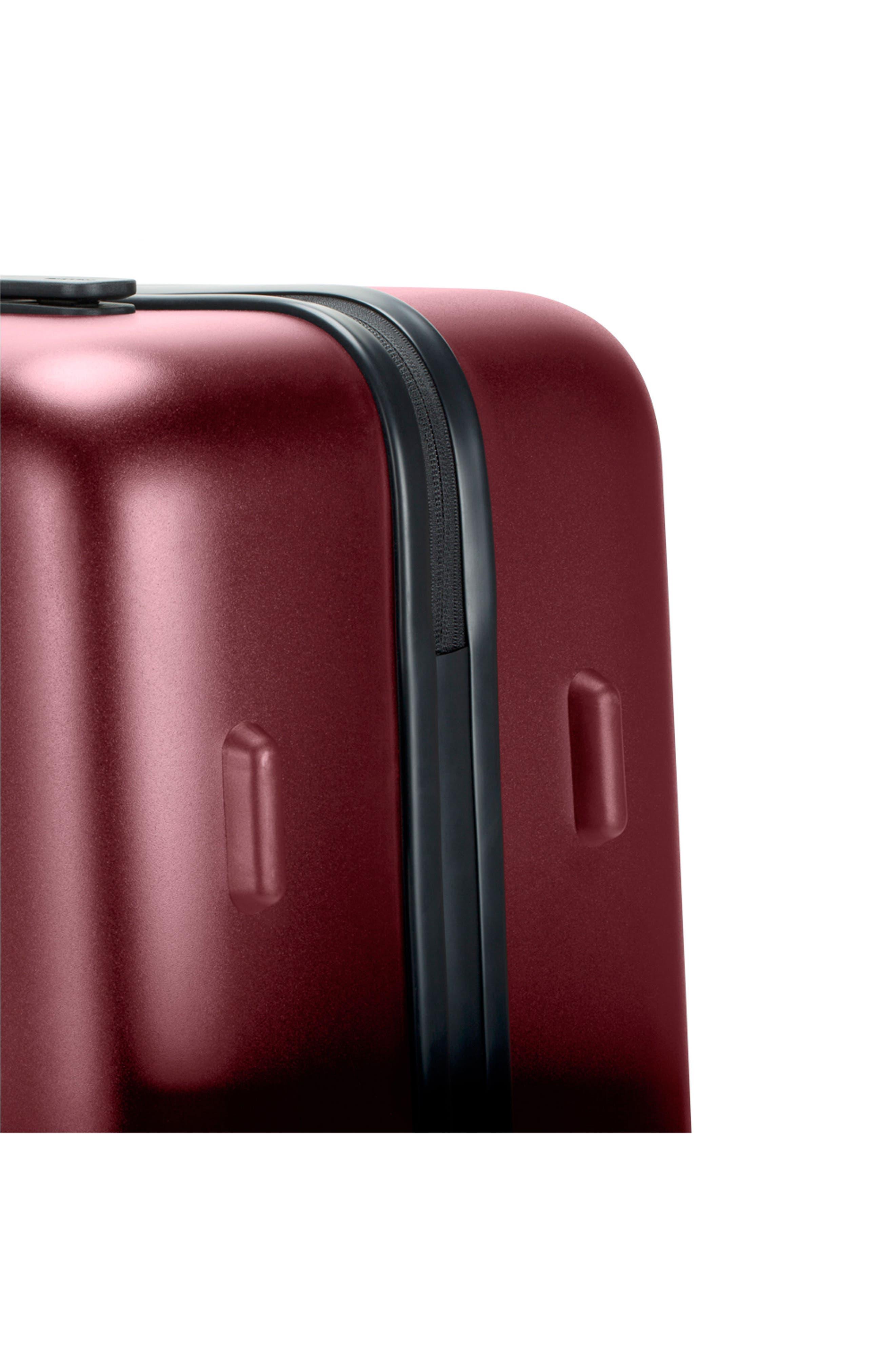 NOVI 31-Inch Hardshell Wheeled Packing Case,                             Alternate thumbnail 11, color,                             Deep Red