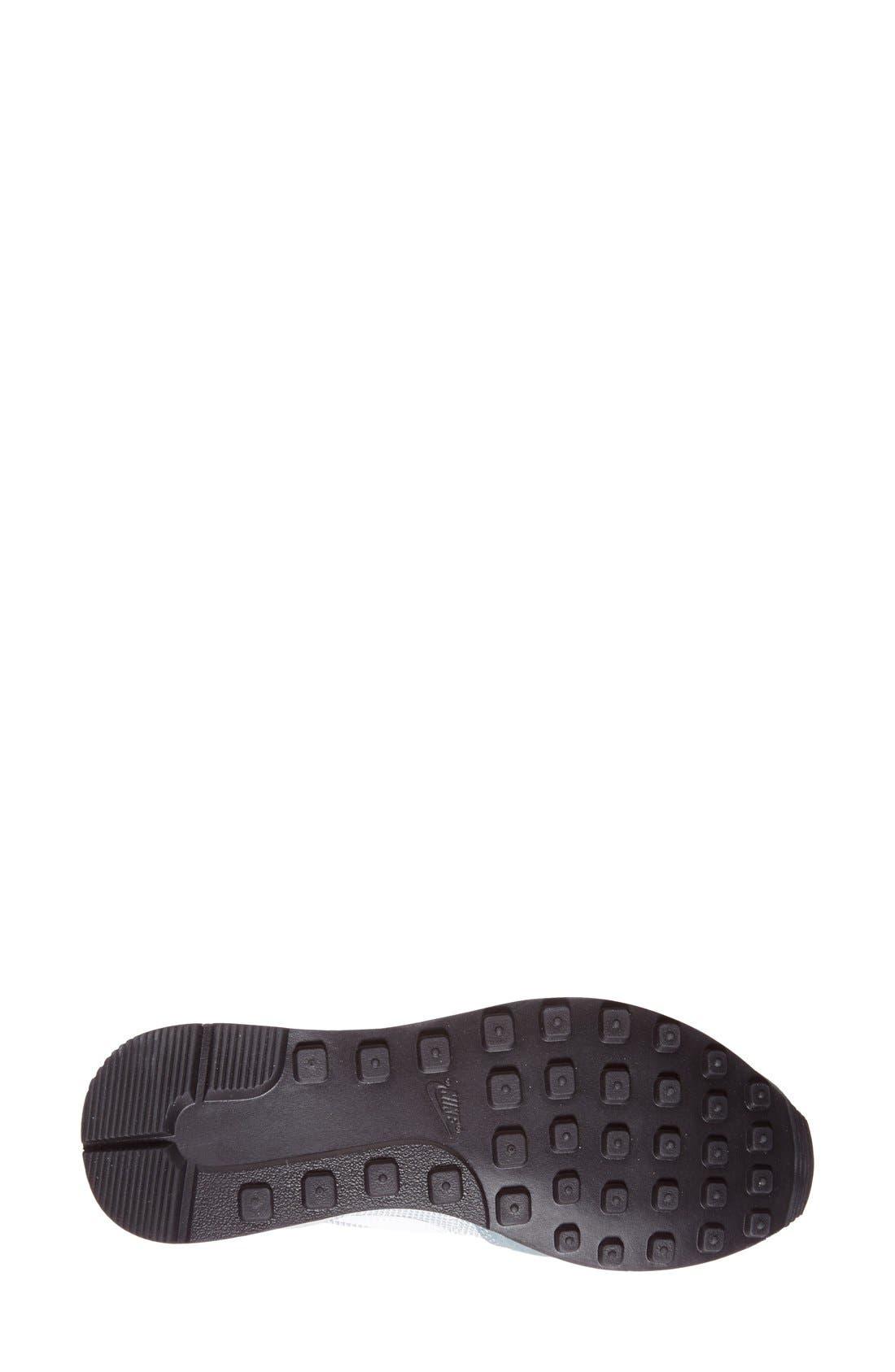 'Internationalist' Sneaker,                             Alternate thumbnail 4, color,                             Grey/ Platinum/ Black