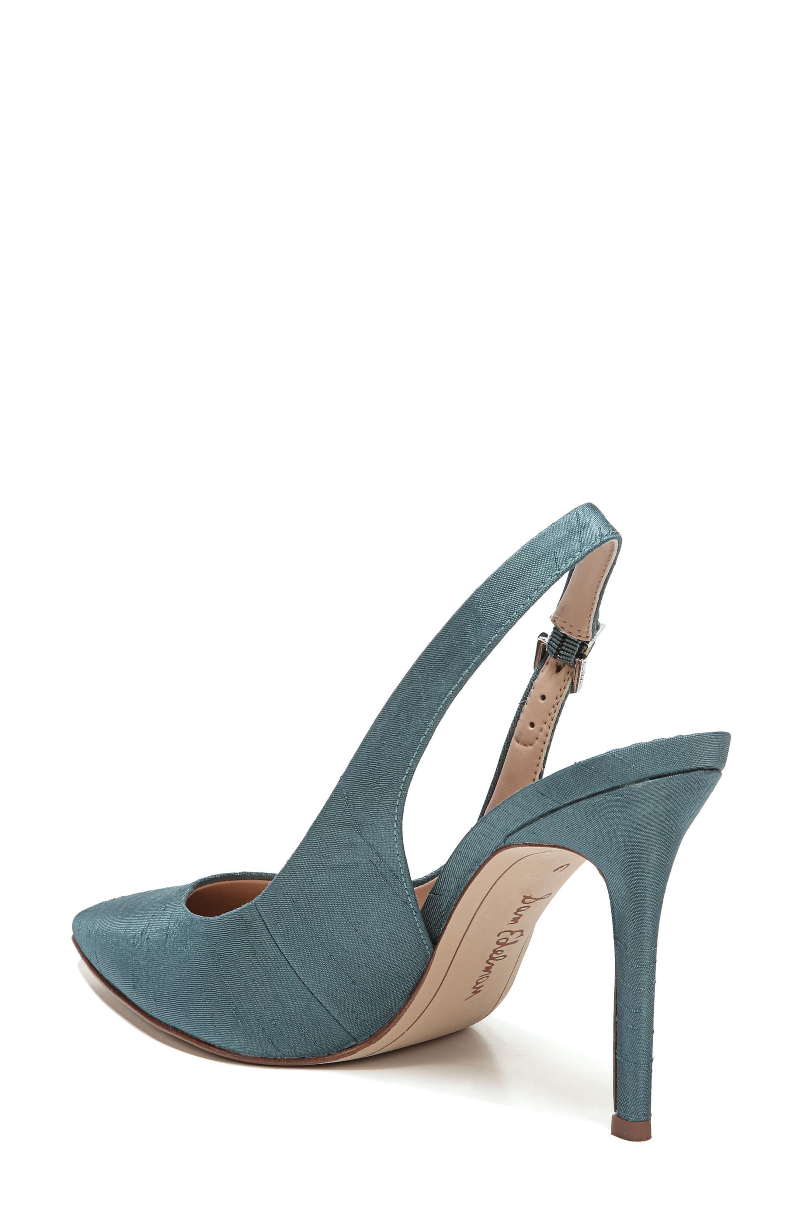 Hastings Slingback Pump,                             Alternate thumbnail 2, color,                             Blue Shadow