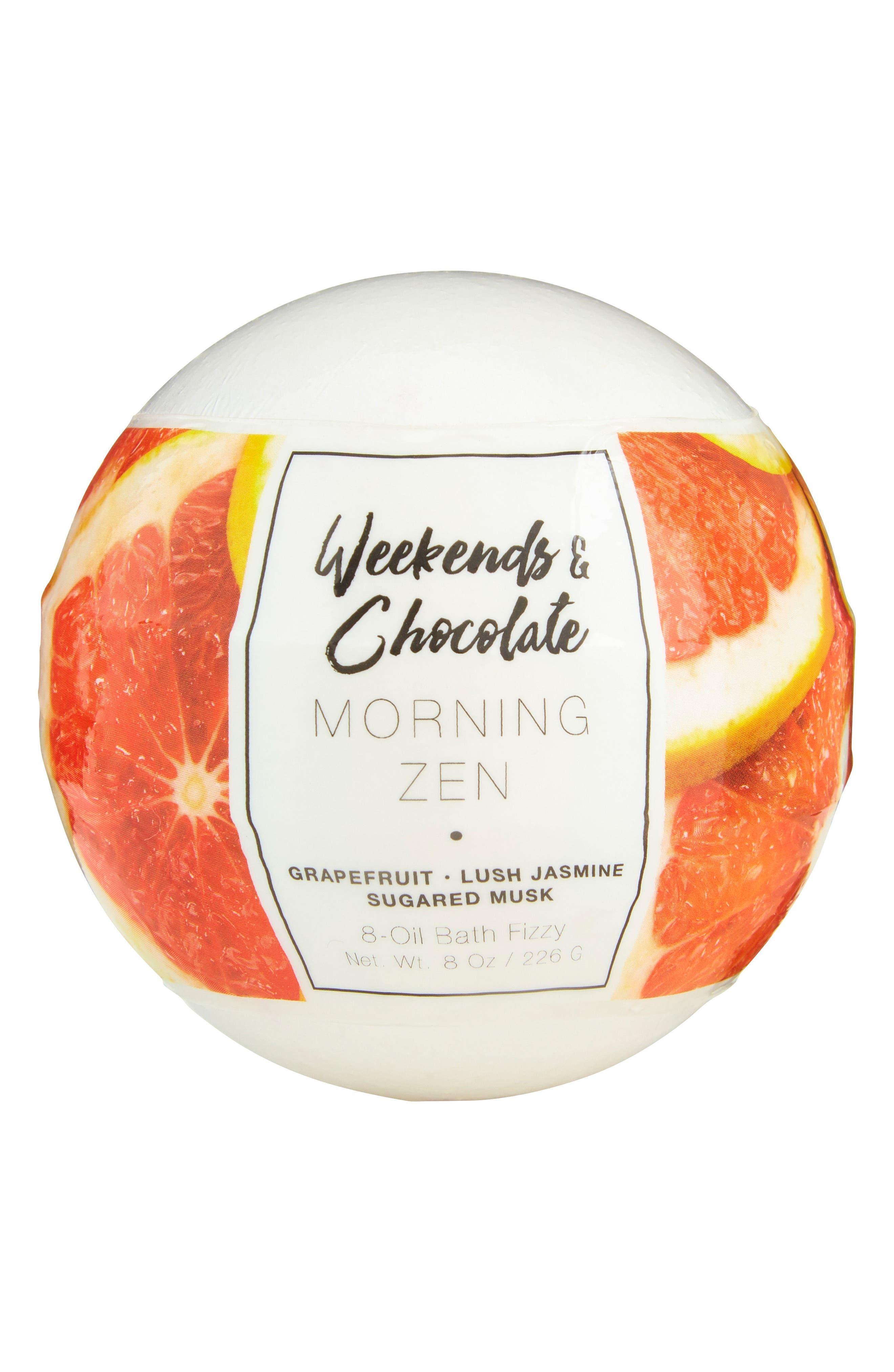 Morning Zen Large Bath Fizzy,                             Main thumbnail 1, color,                             No Color