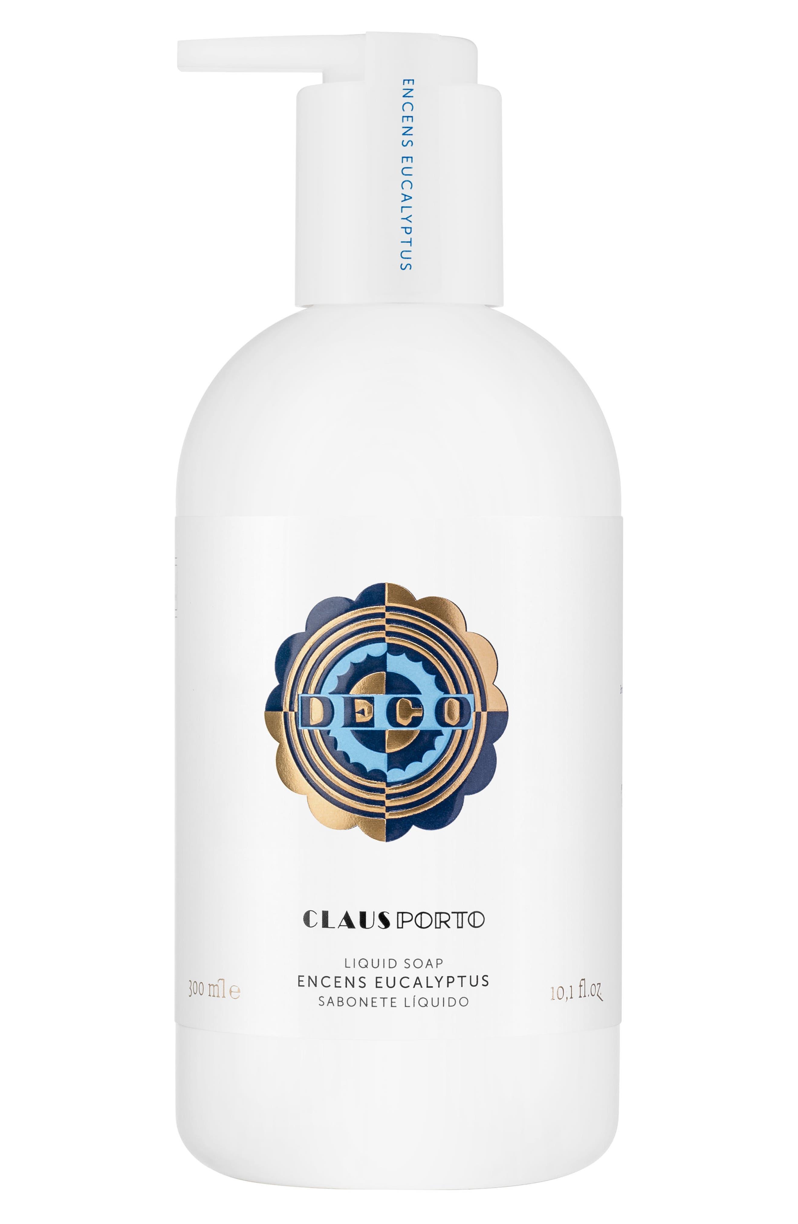 Claus Porto Deco Encens Eucalyptus Liquid Soap