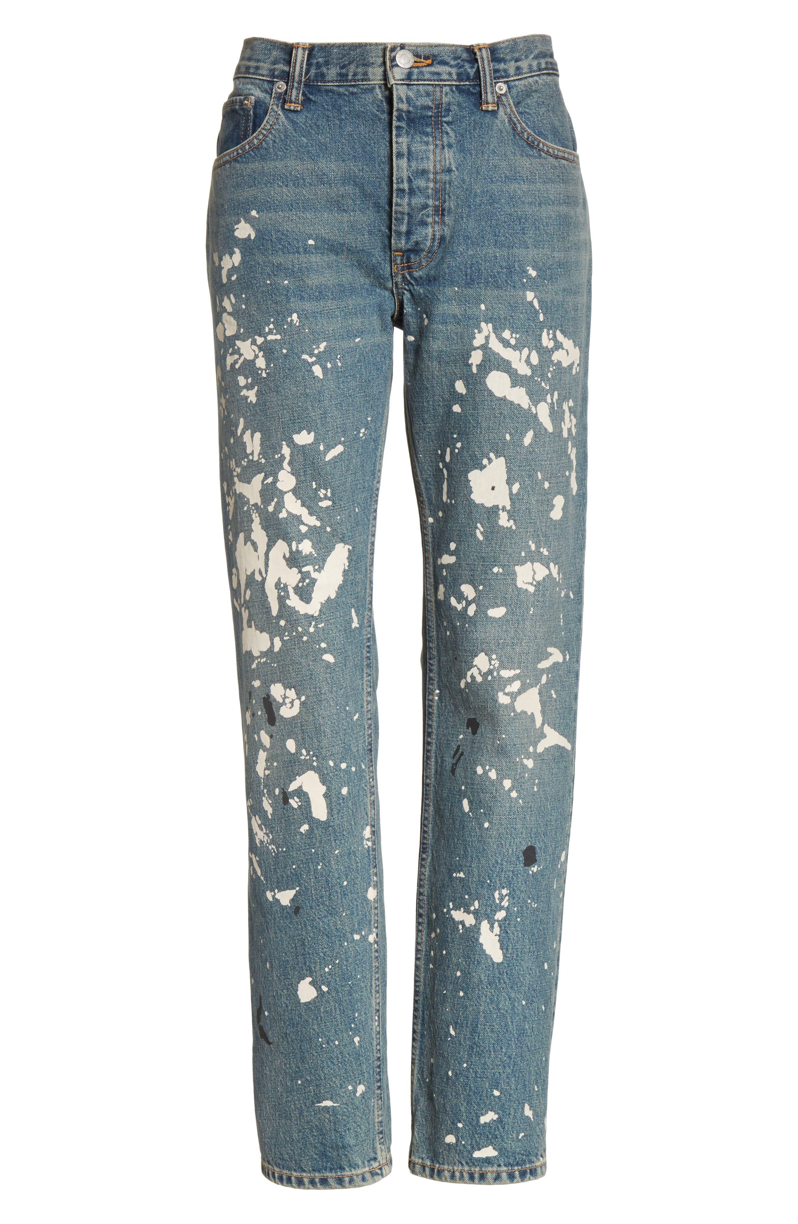 Re-Edition Painter Jeans,                             Alternate thumbnail 7, color,                             Paint Splatter