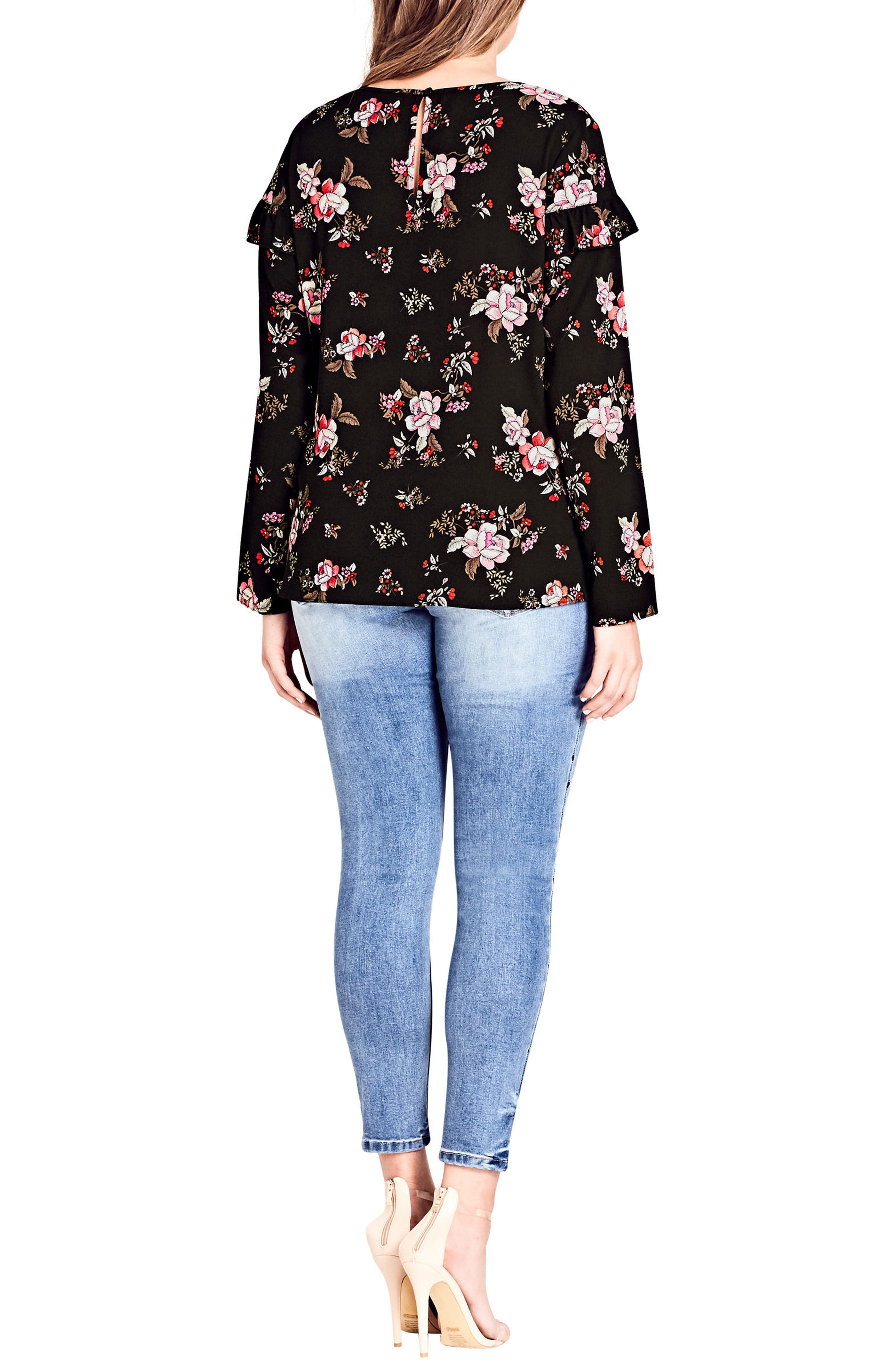 Floral Dream Top,                             Alternate thumbnail 2, color,                             Floral Dreaming
