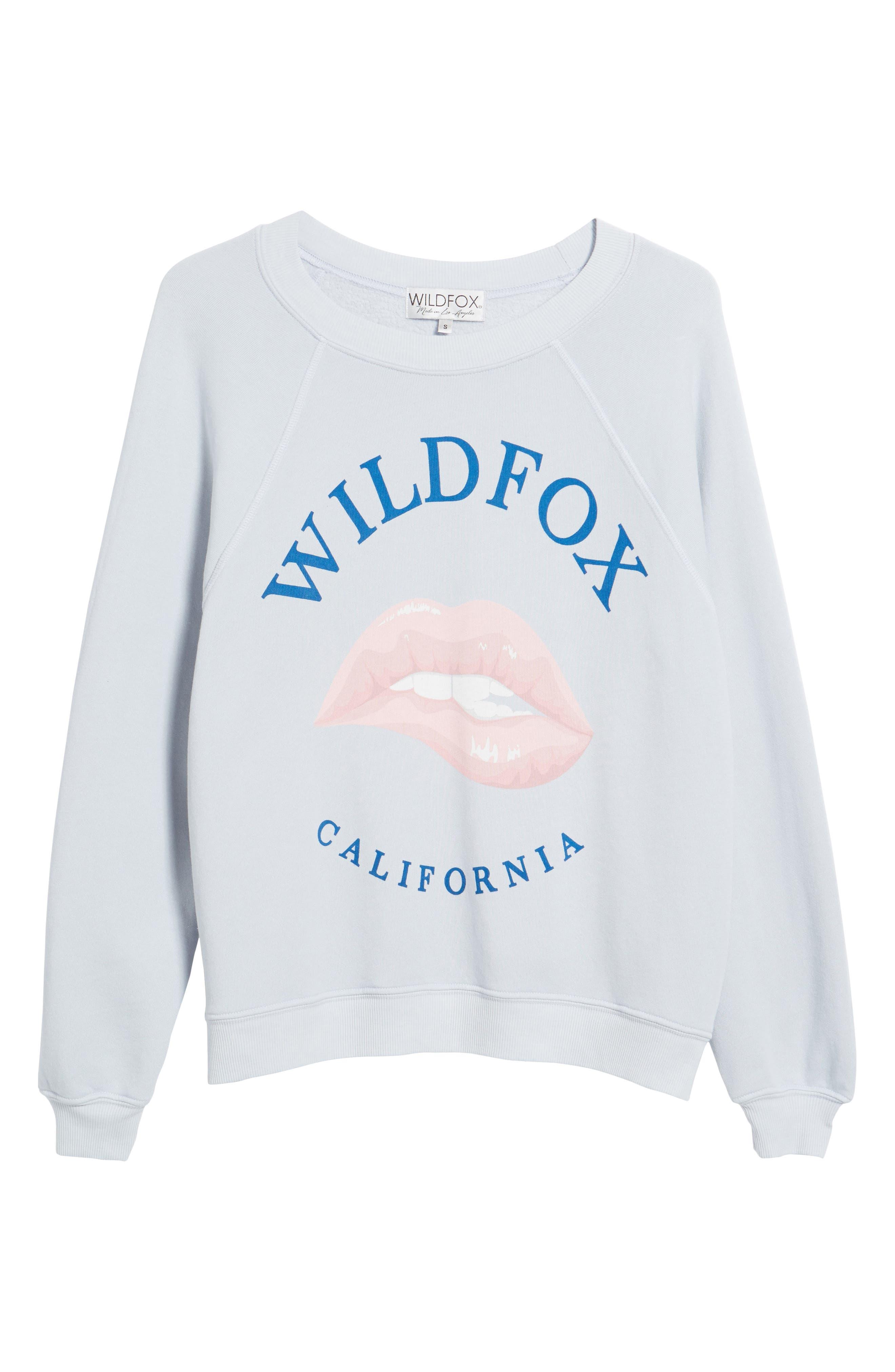 California Sommers Sweatshirt,                             Alternate thumbnail 6, color,                             Blue Ribbon