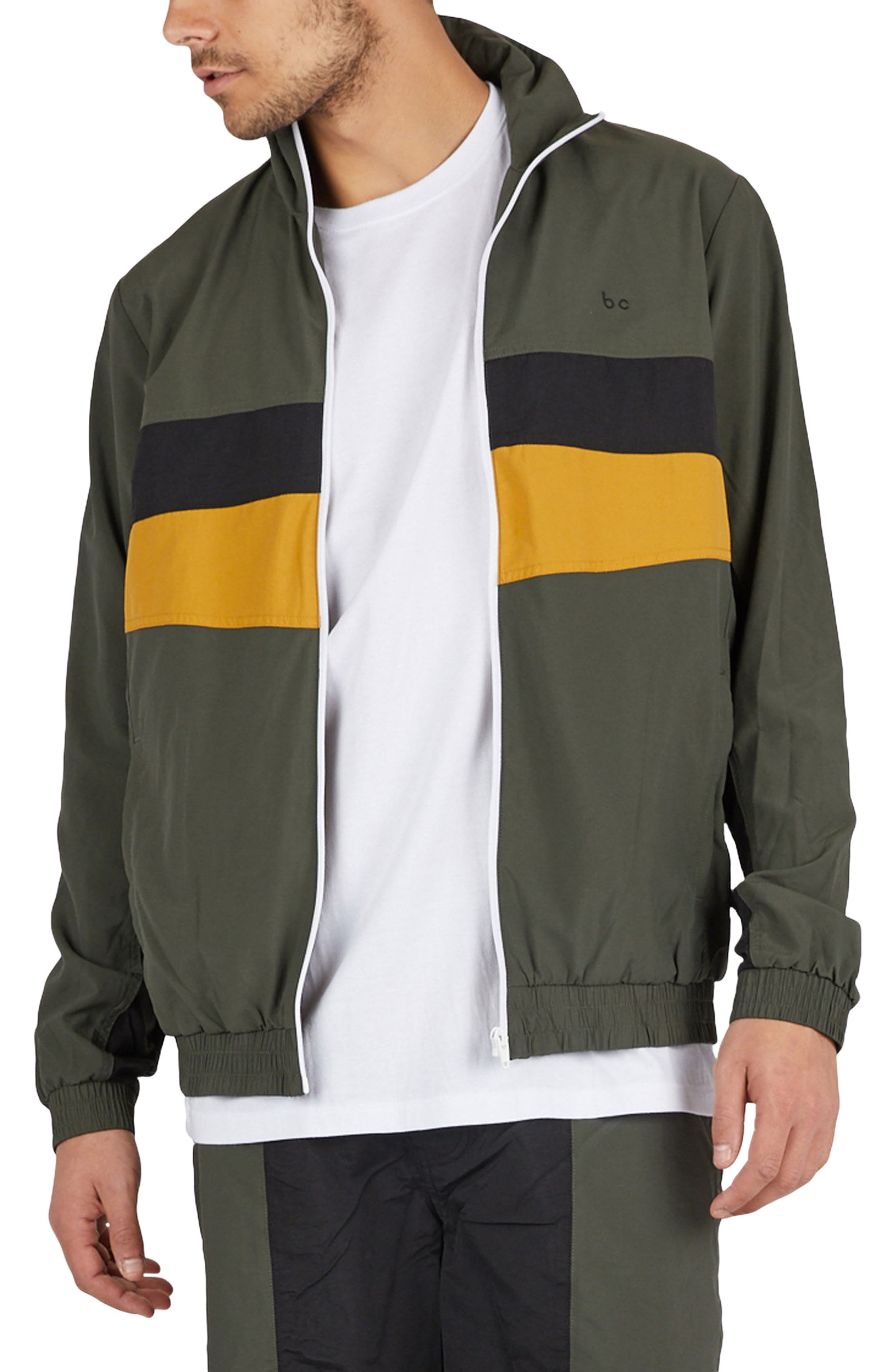 B. Quick Track Jacket,                         Main,                         color, Army