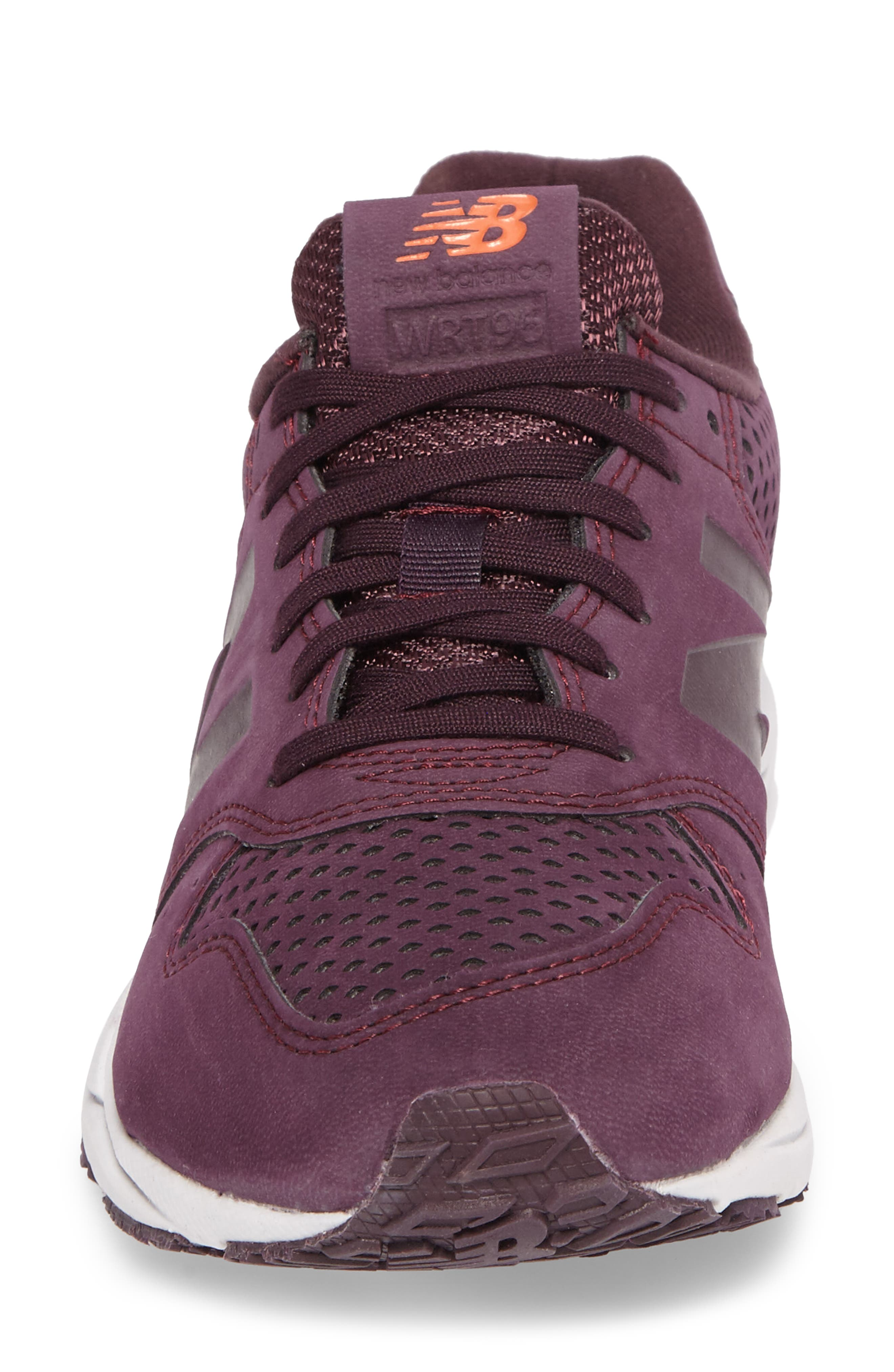 96 Mash-Up Sneaker,                             Alternate thumbnail 4, color,                             Black Rose