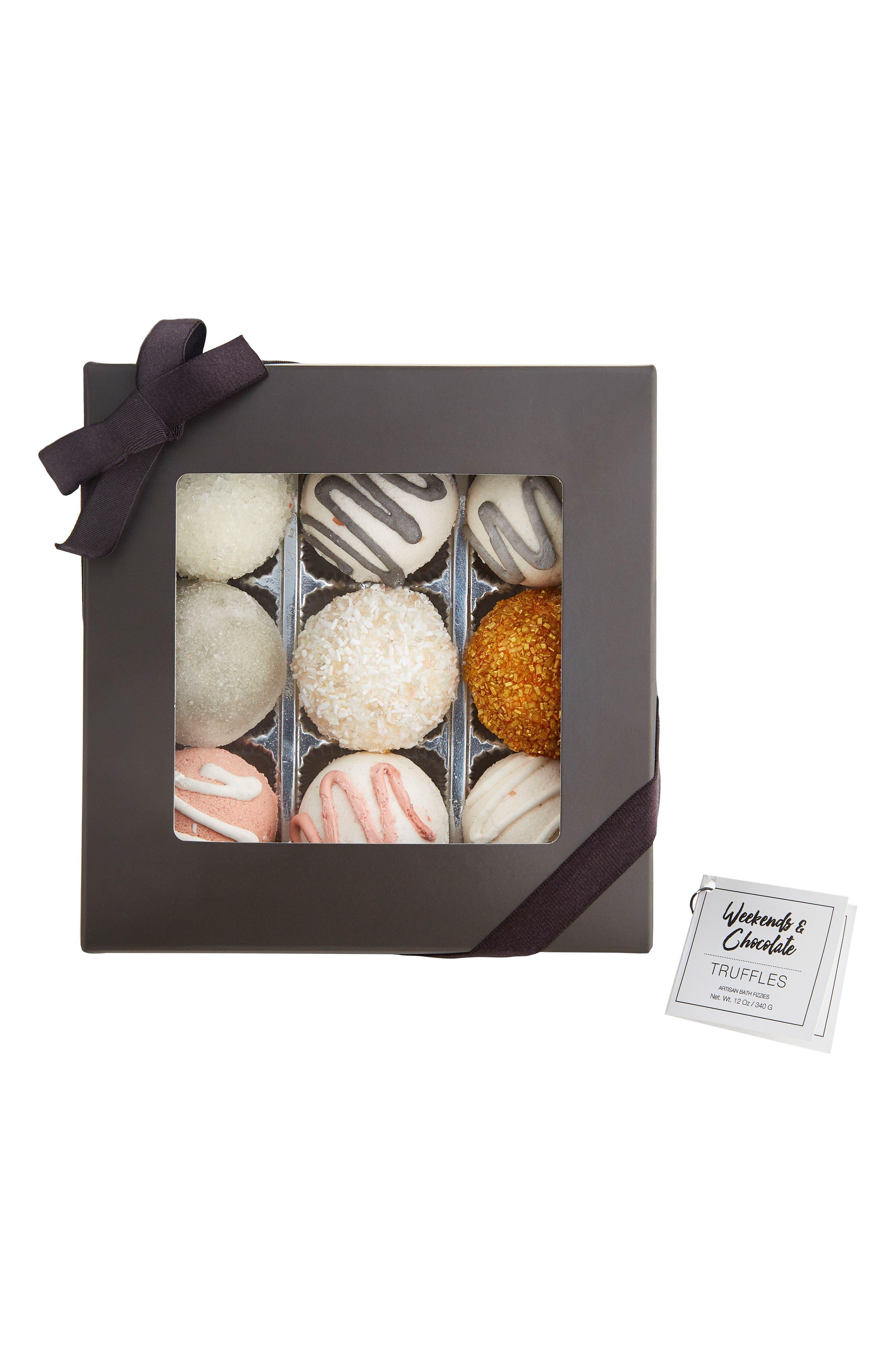 Main Image - Weekends & Chocolate Bath Truffles