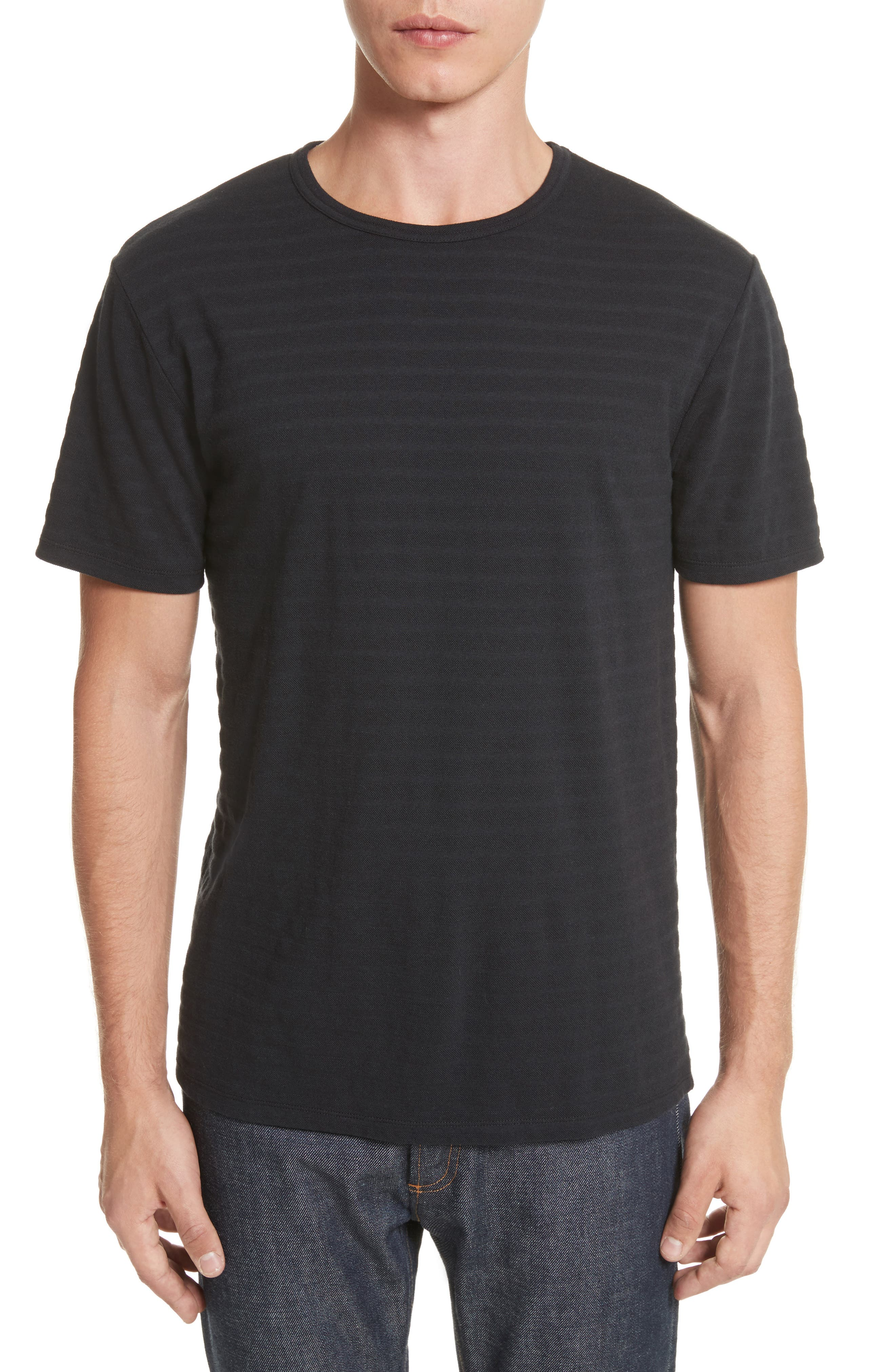 Winston Crewneck T-Shirt,                             Main thumbnail 1, color,                             Anthracite