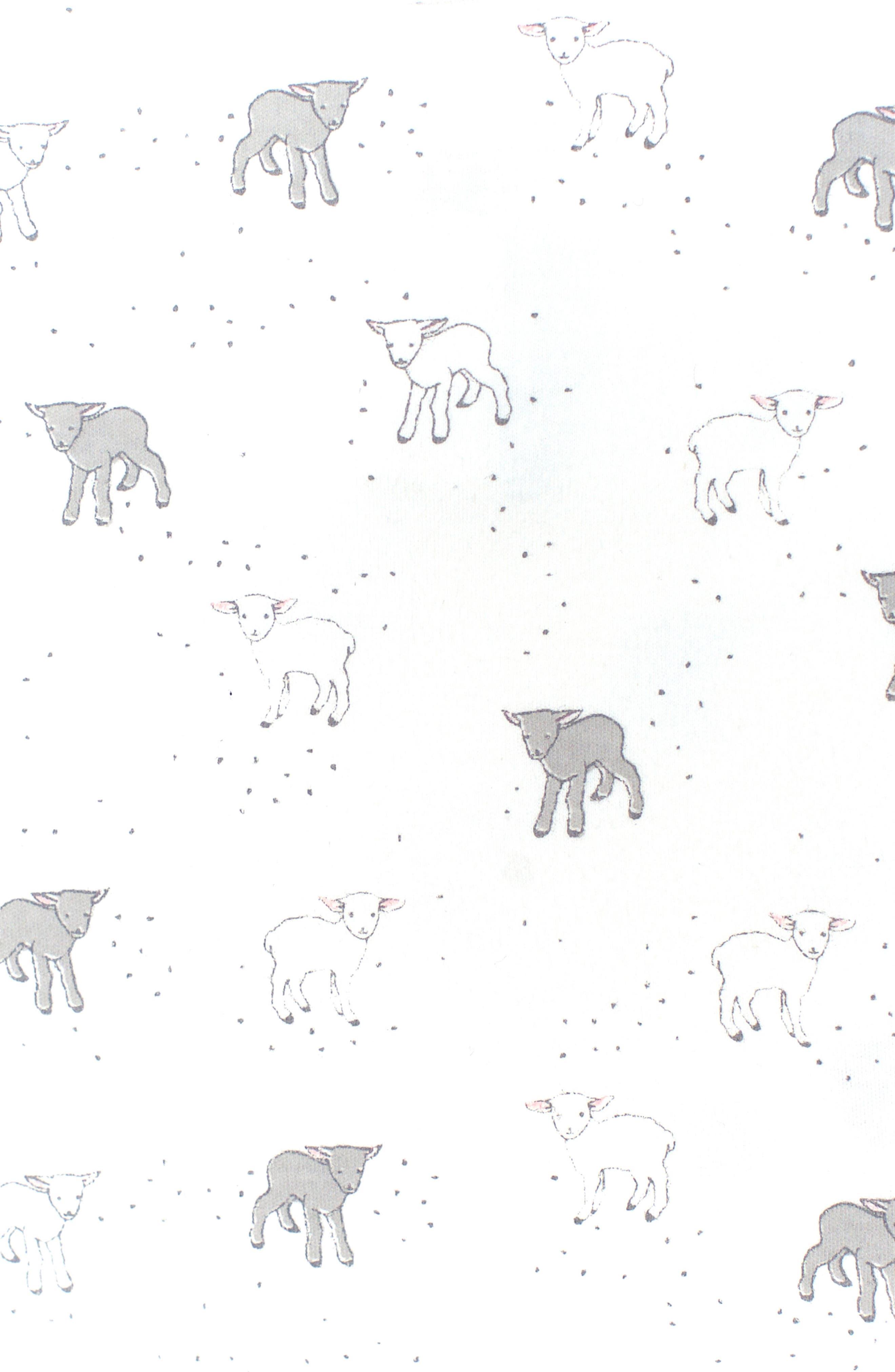 Little Lamb Bodysuit,                             Alternate thumbnail 2, color,                             Ivory