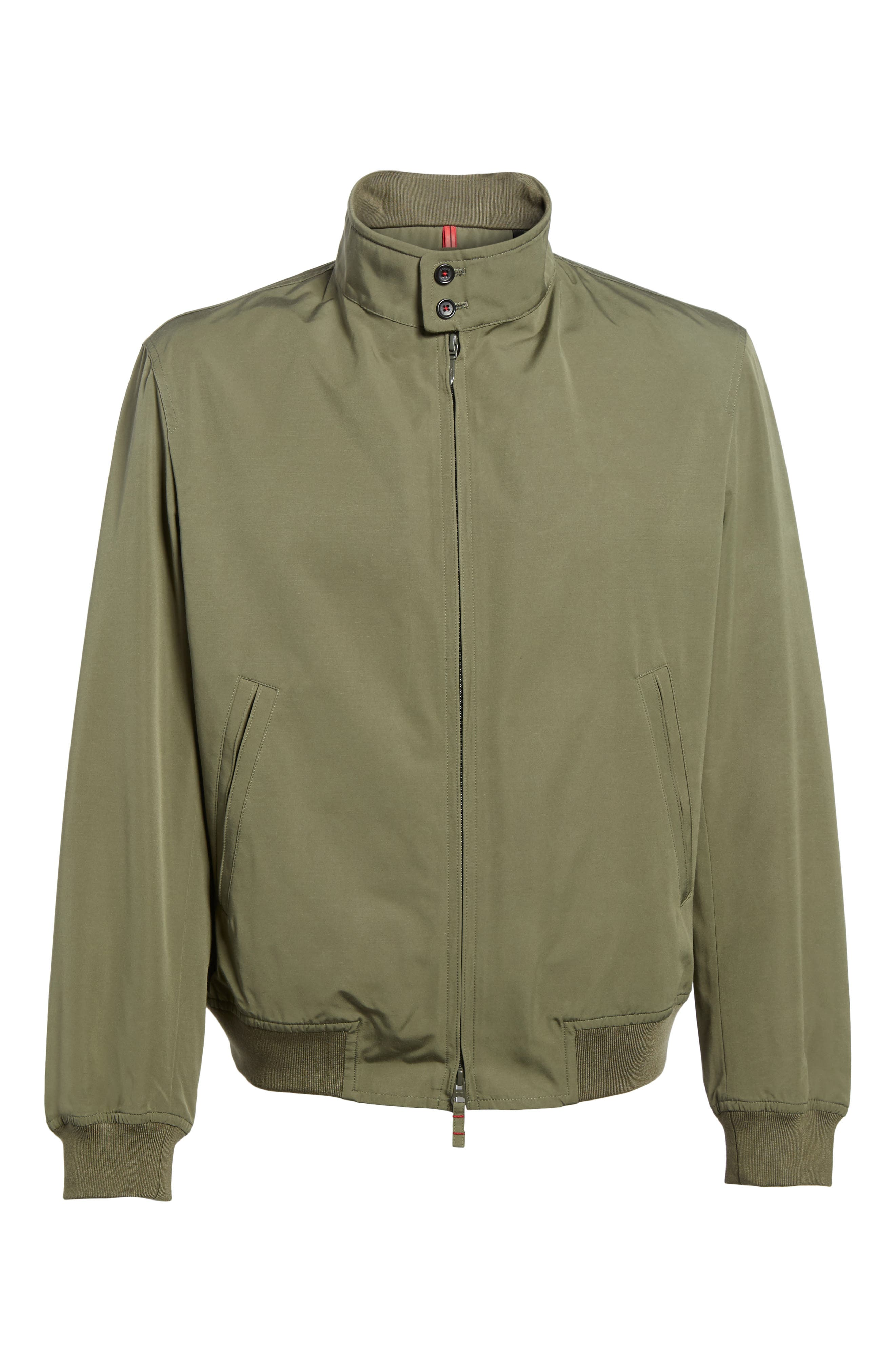 Alternate Image 6  - Sanyo Water-Repellent Zip Front Jacket