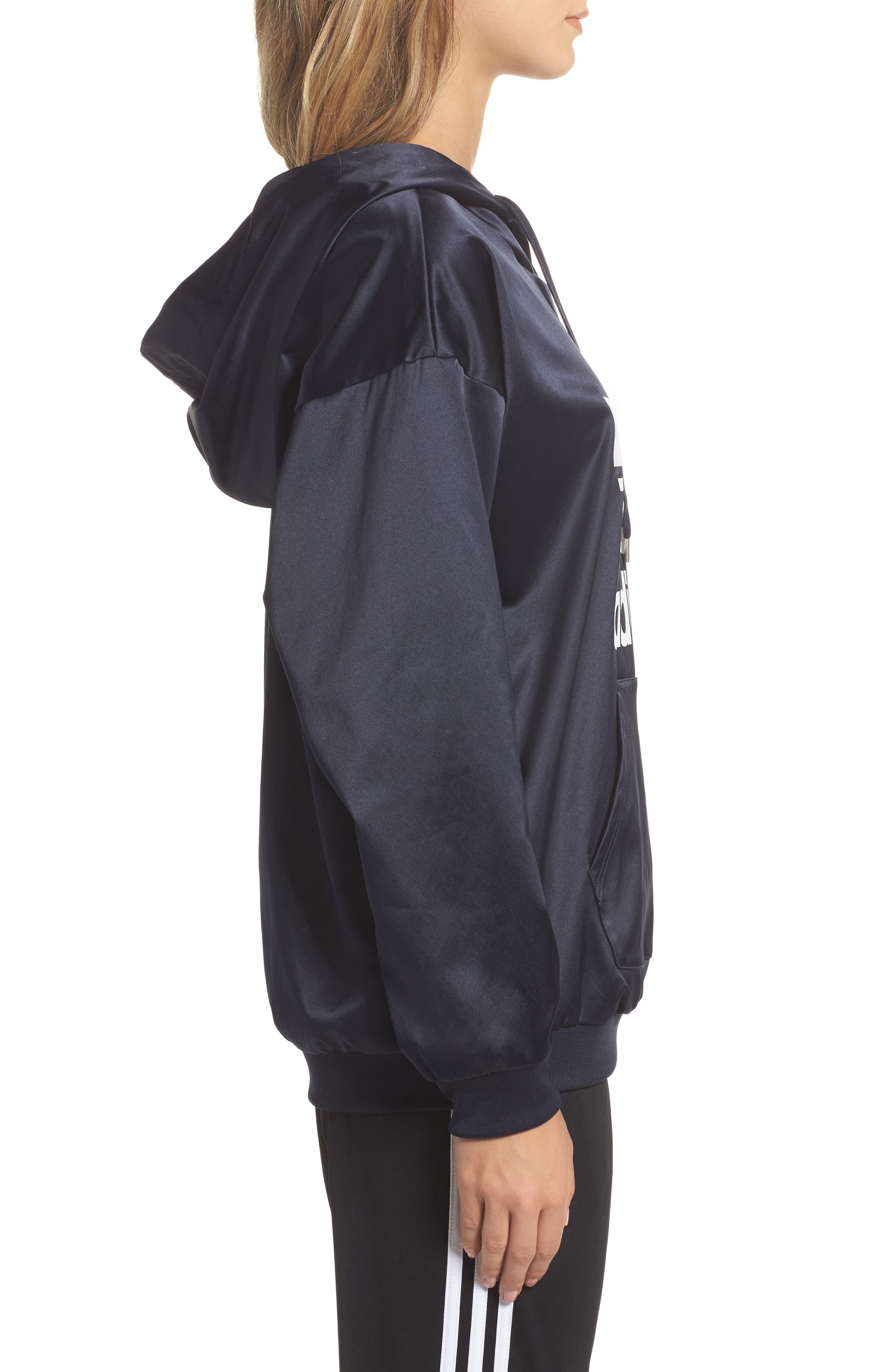 Alternate Image 3  - adidas Originals Trefoil Hoodie