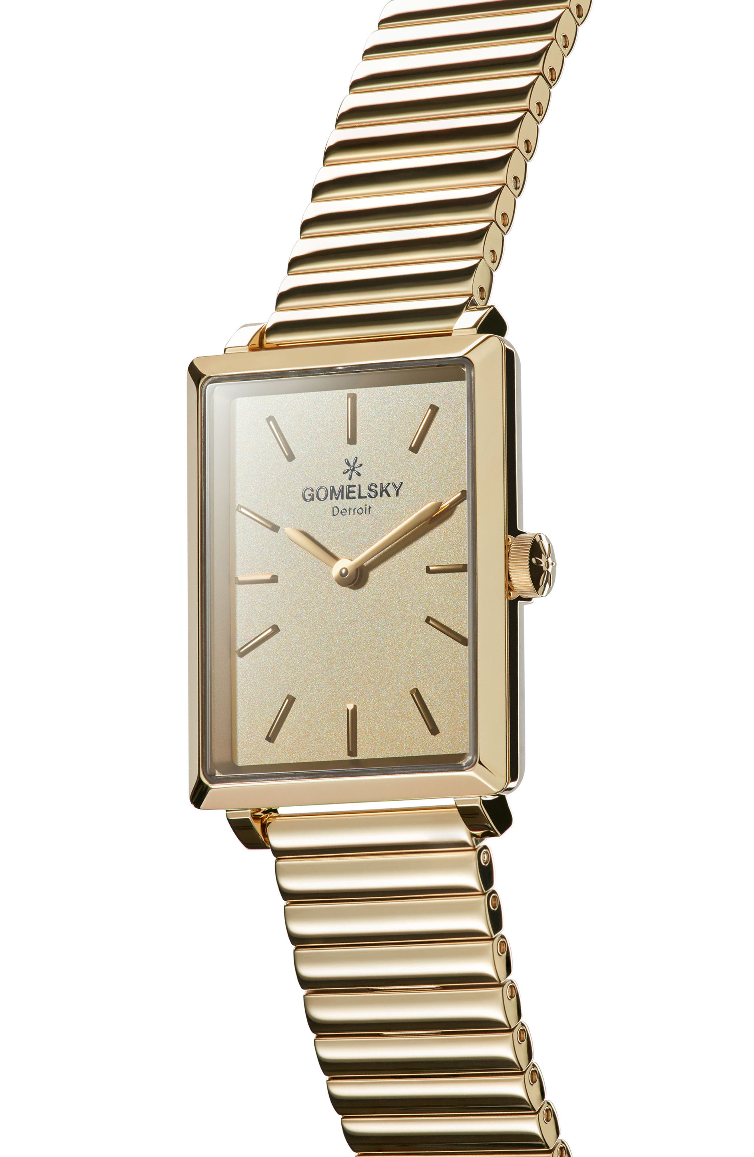 The Shirley Fromer Bracelet Watch, 32mm x 25mm,                             Alternate thumbnail 5, color,                             Gold