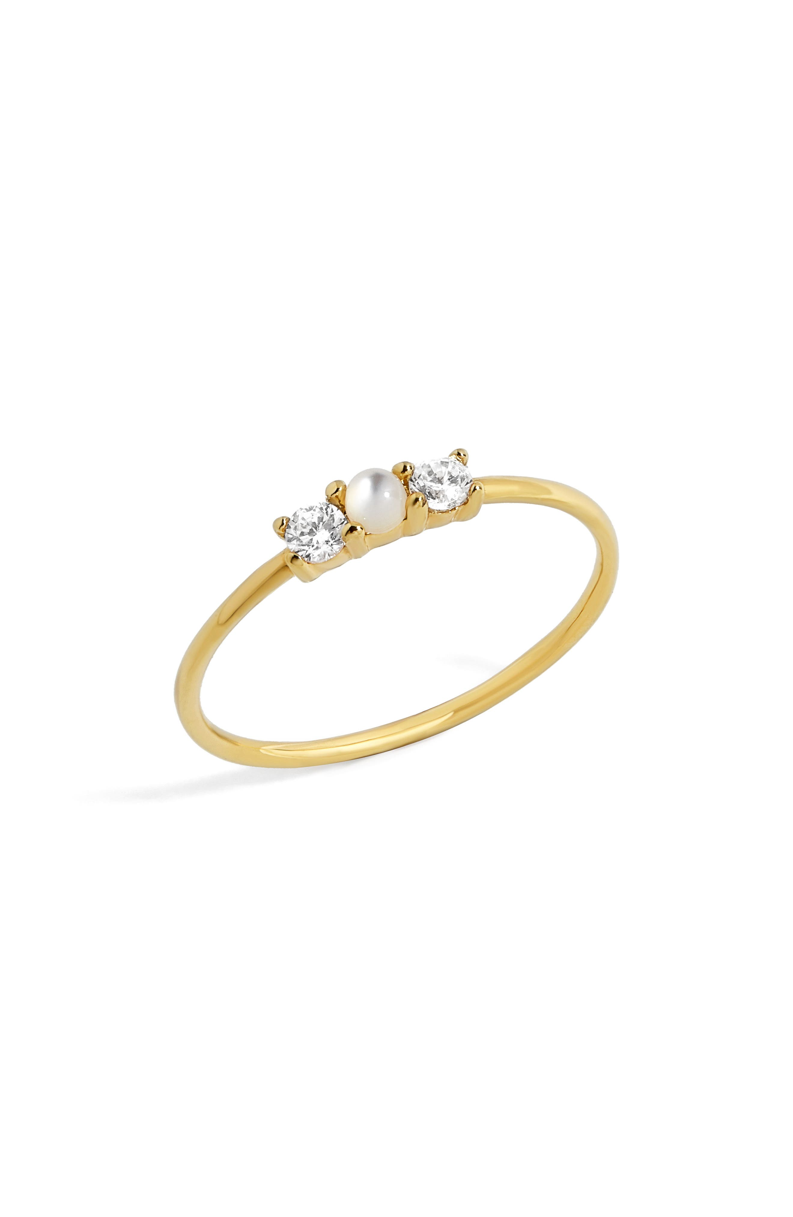 Opalescent Everyday Fine Ring,                         Main,                         color, Gold