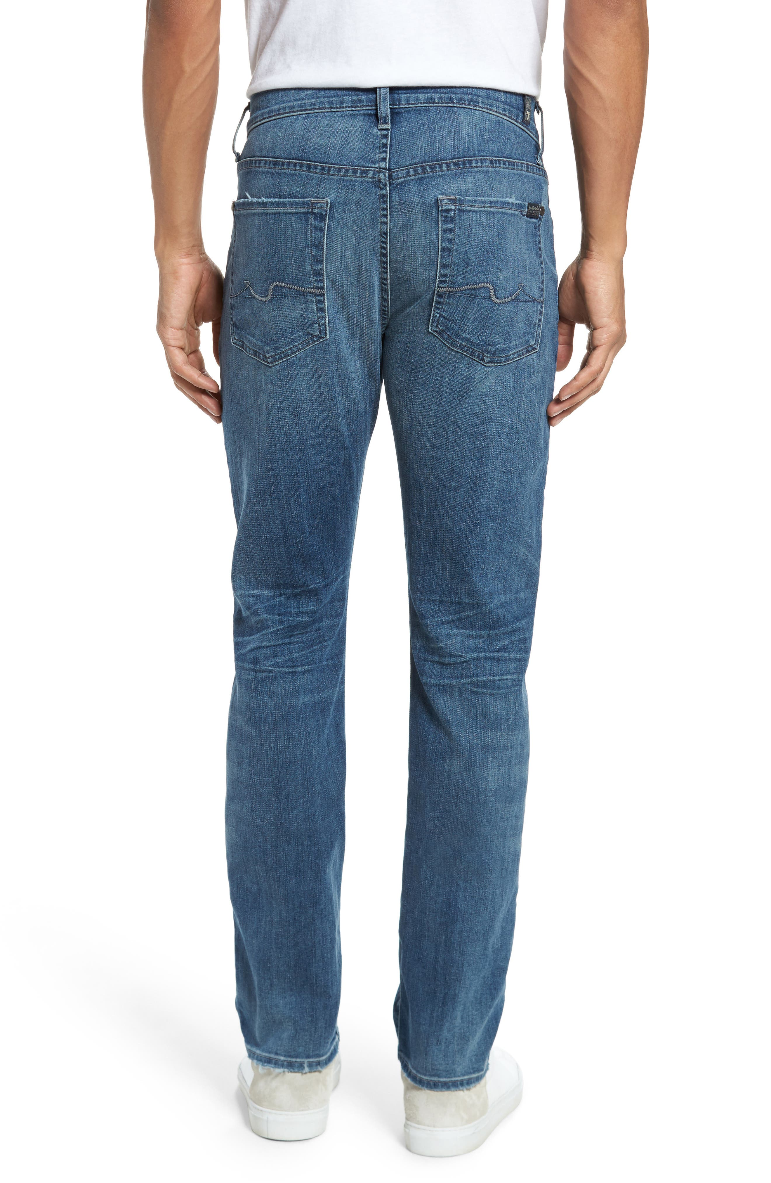 The Straight Slim Straight Leg Jeans,                             Alternate thumbnail 2, color,                             Flash