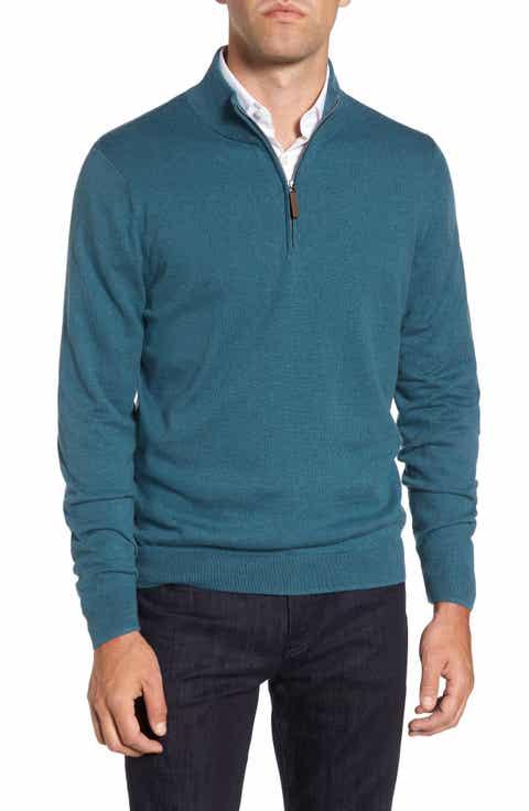 Men's Half-Zip Pullovers & Zip-Up Sweaters & Fleece | Nordstrom