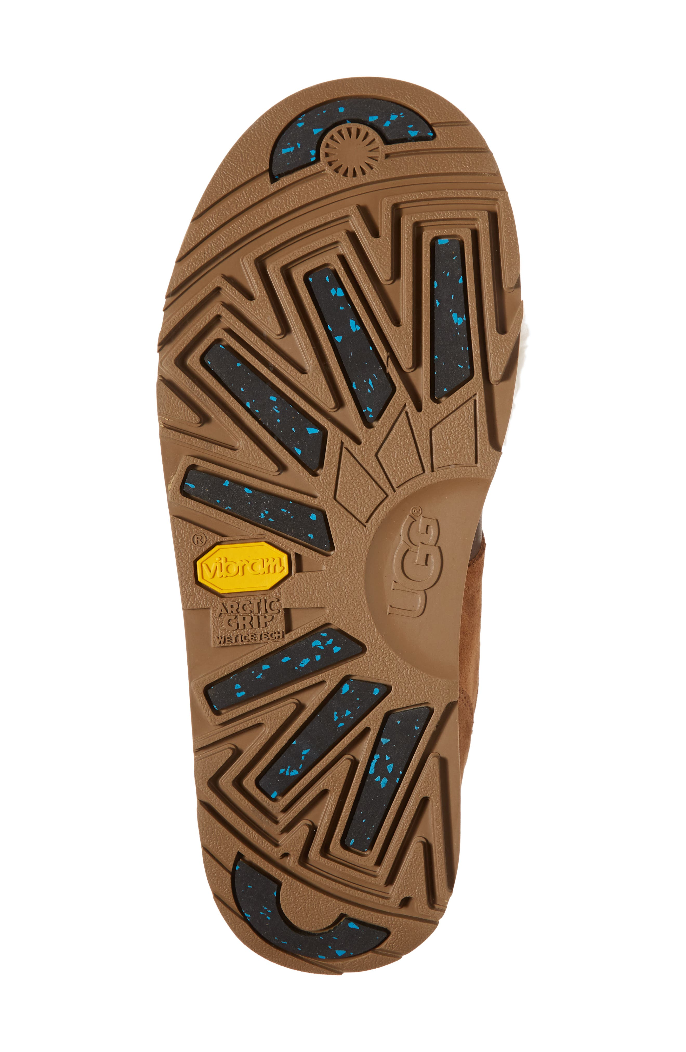 Alternate Image 6  - UGG® Isley Genuine Shearling Pompom Waterproof Boot (Women)